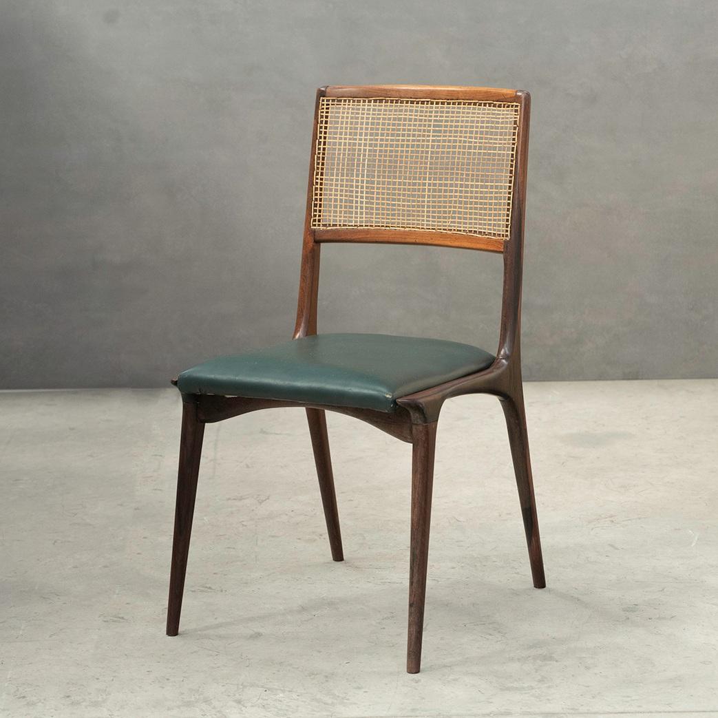 hauner dining chairs   carlo hauner and martin eisler -