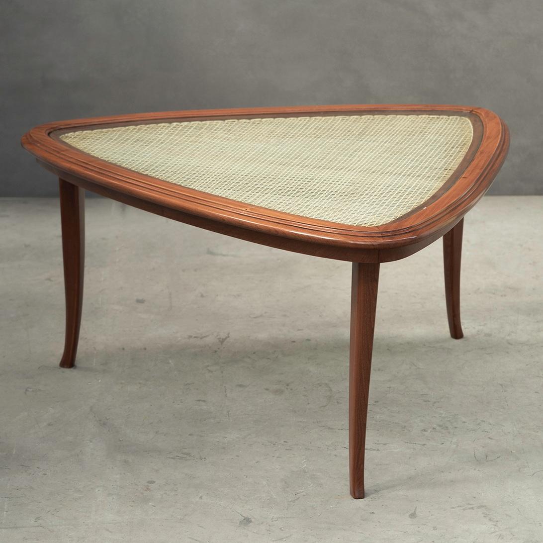 triangular coffee table   carlo hauner and martin eisler -