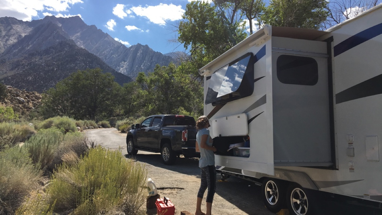 Lone Pine Campground California