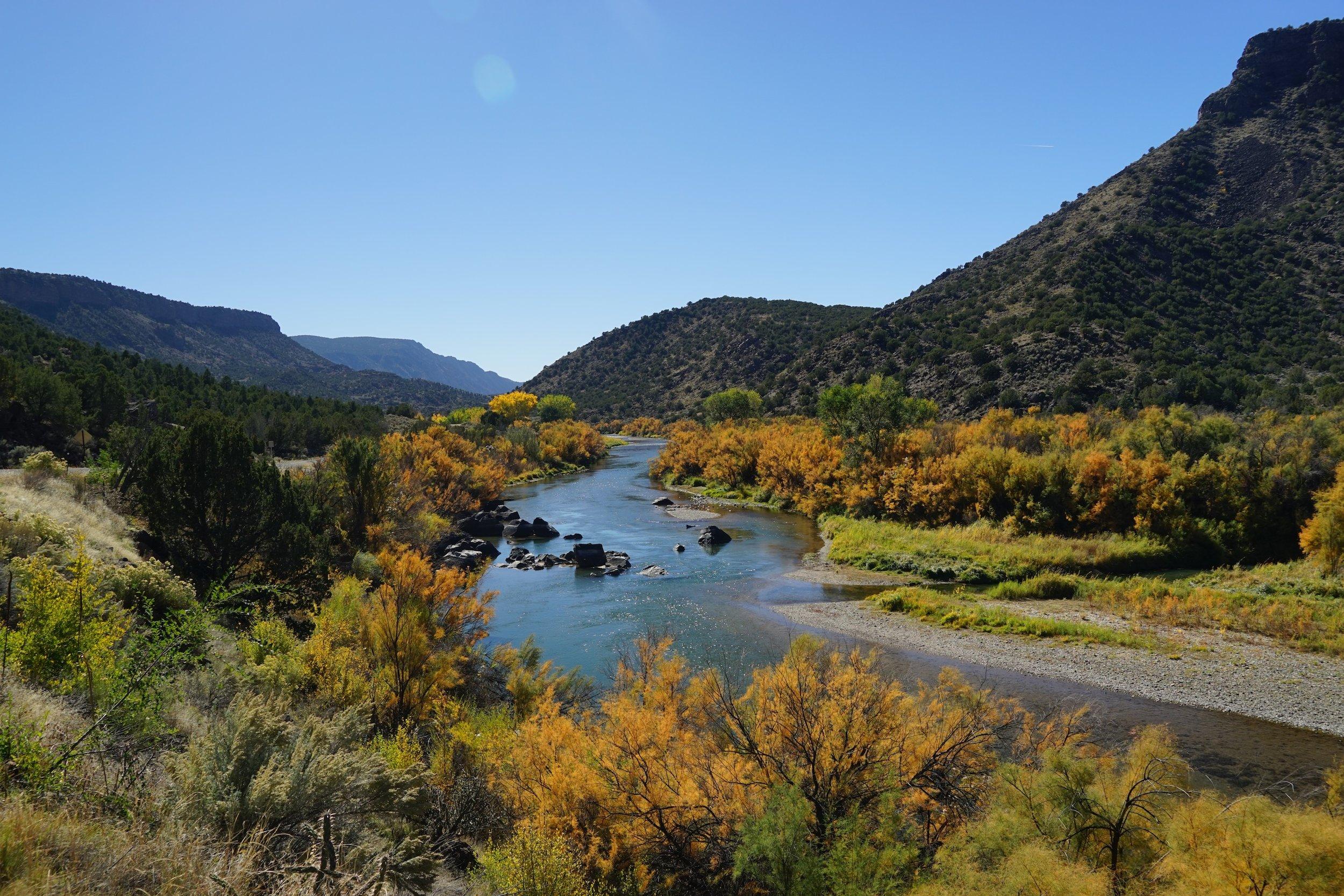 Views from  Rio Grande del Norte National Monument