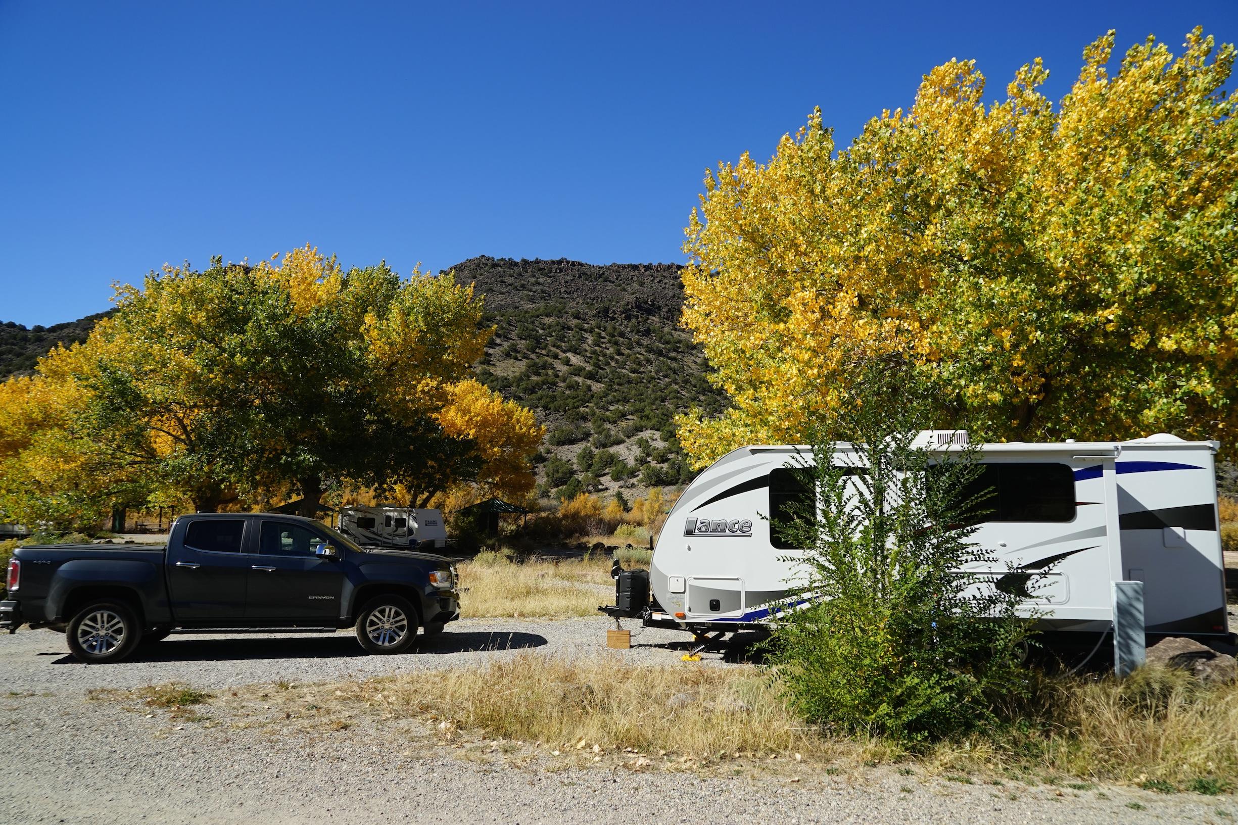 Camping in  Rio Grande del Norte National Monument