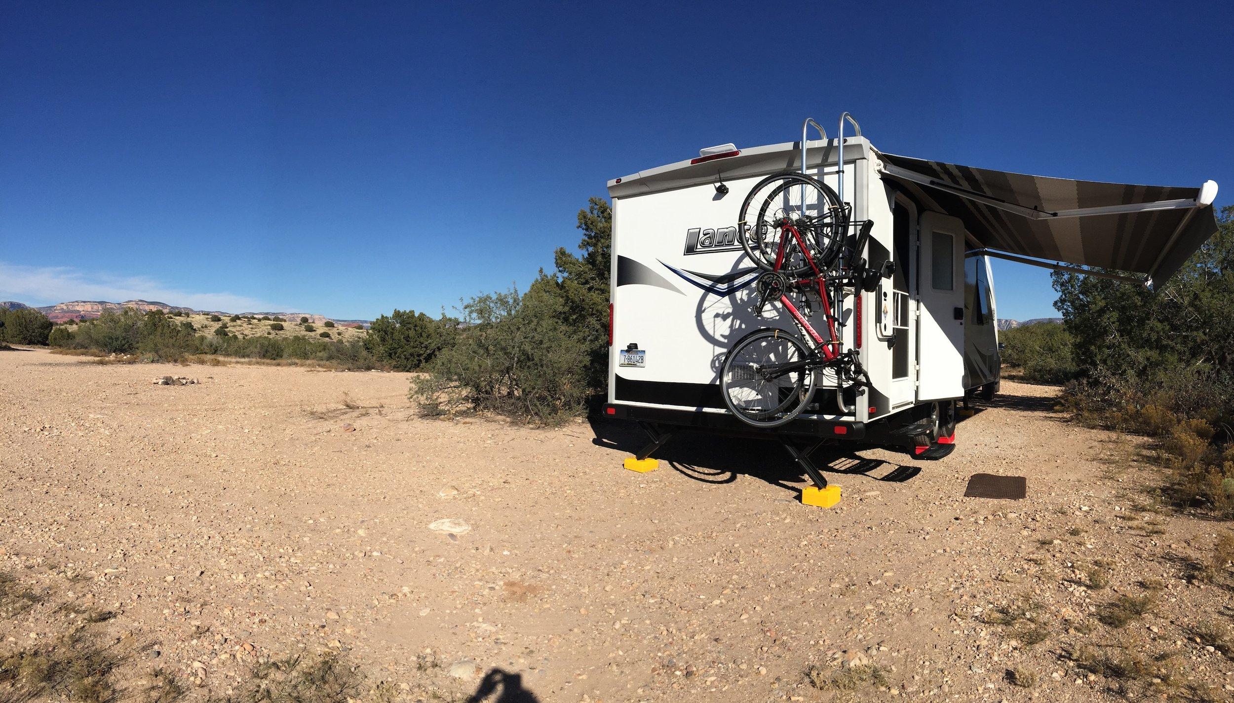 Angel Valley Camping Sedona Arizona