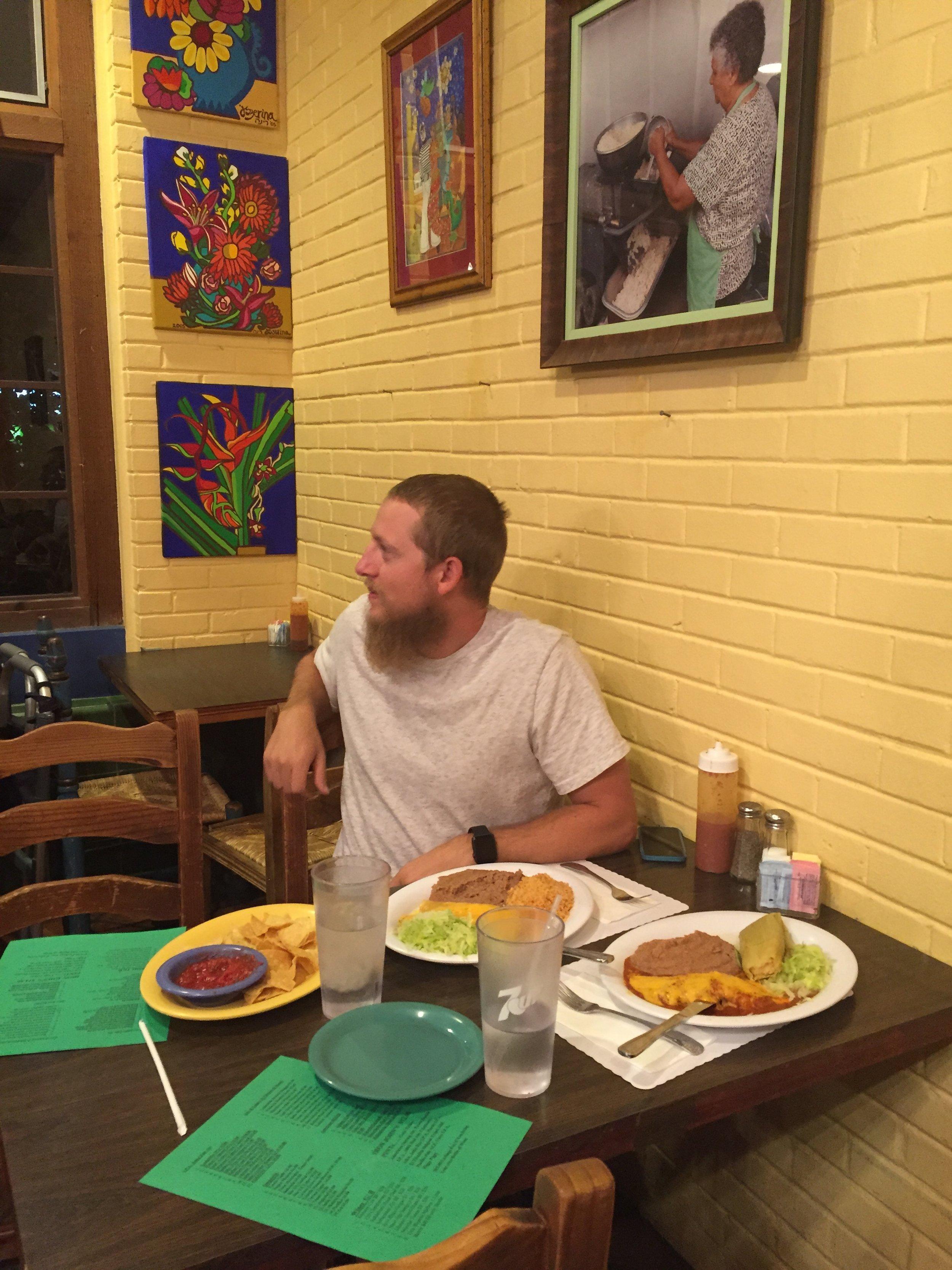Leruas Mexican for dinner