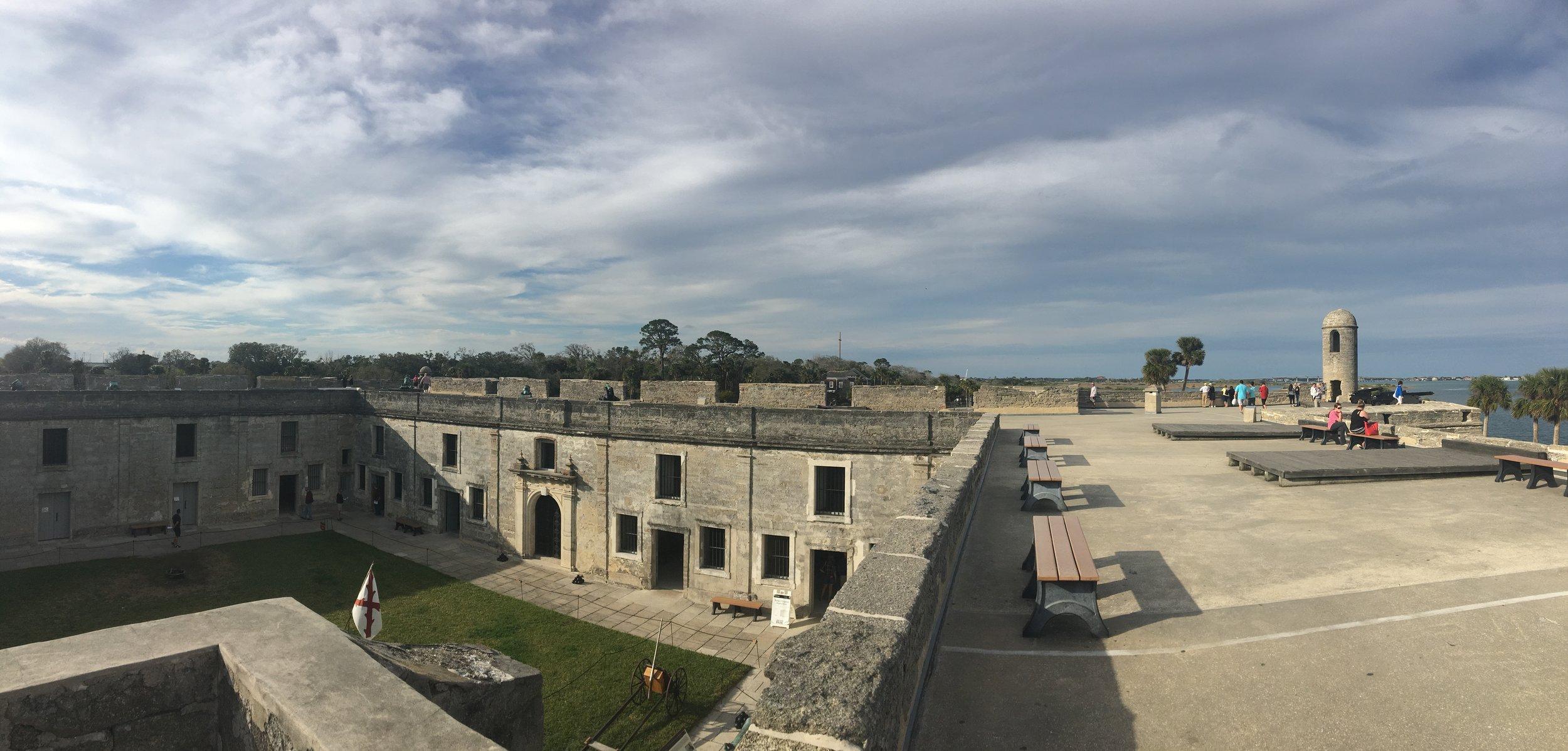 St. Augustine Florida Castillo de San Marcos