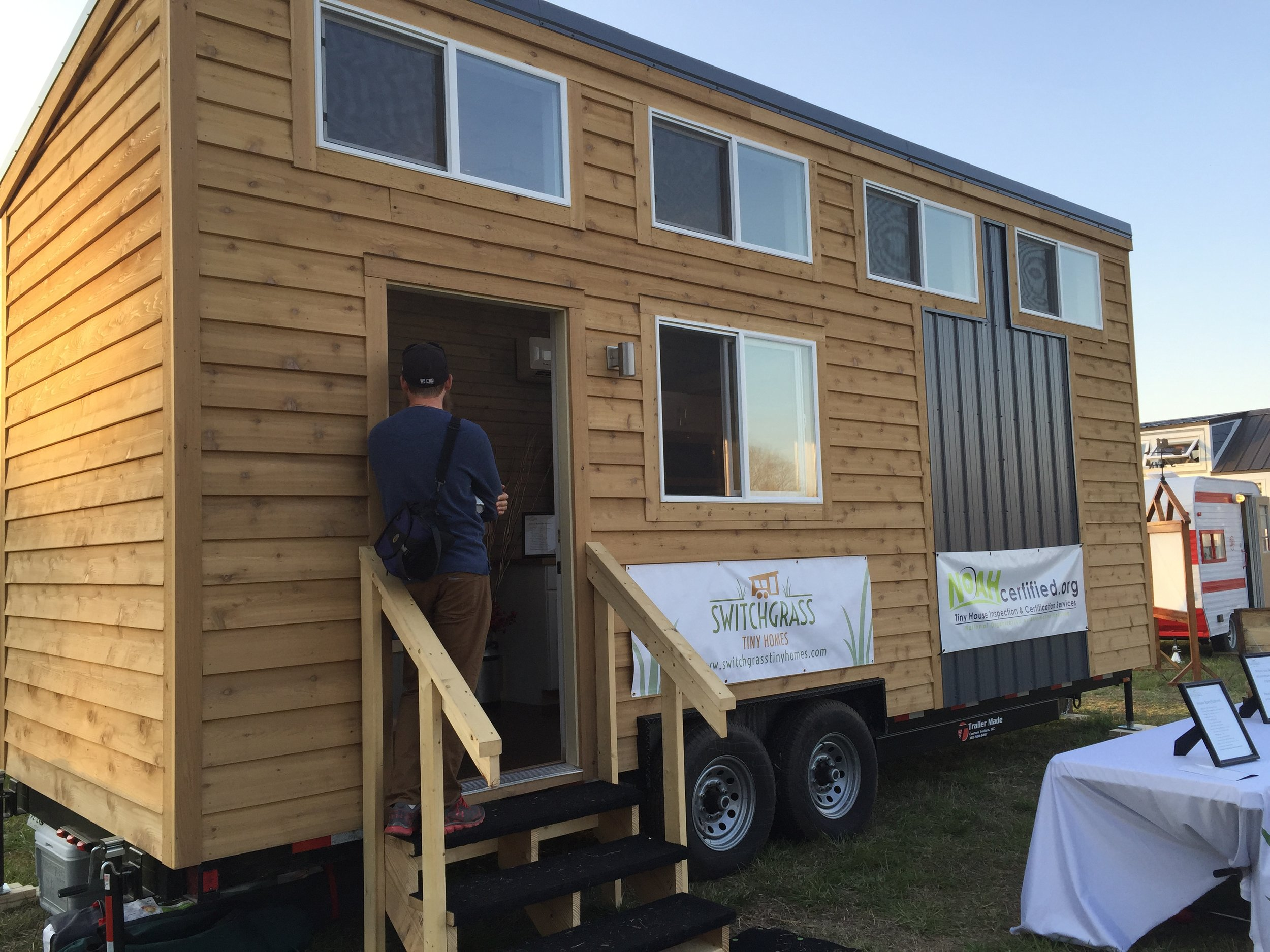 Switchgrass Tiny Homes  are a few great guys out of Champaign, IL building clean and simple designs.