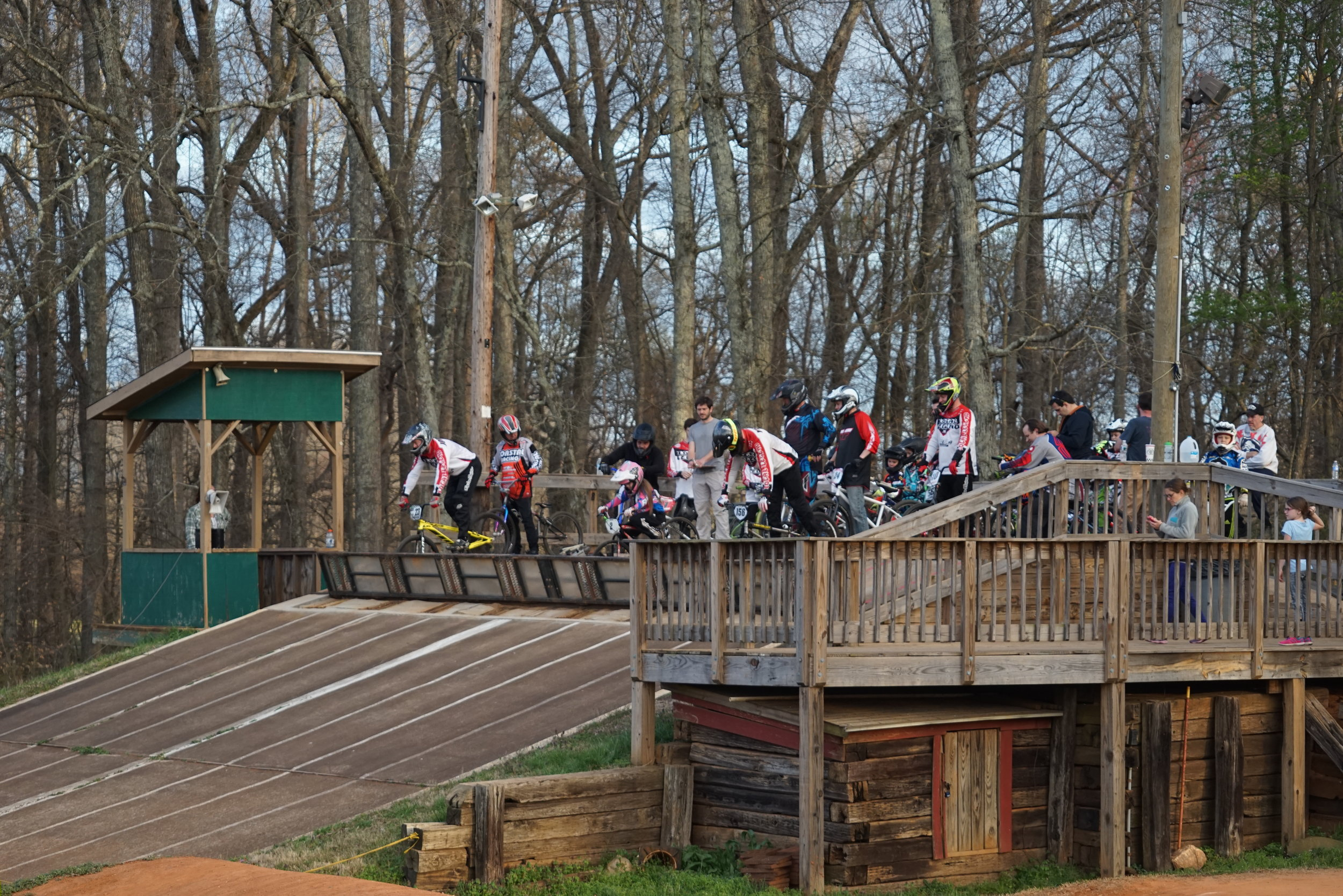 BMX race at Tanglewood RV Park