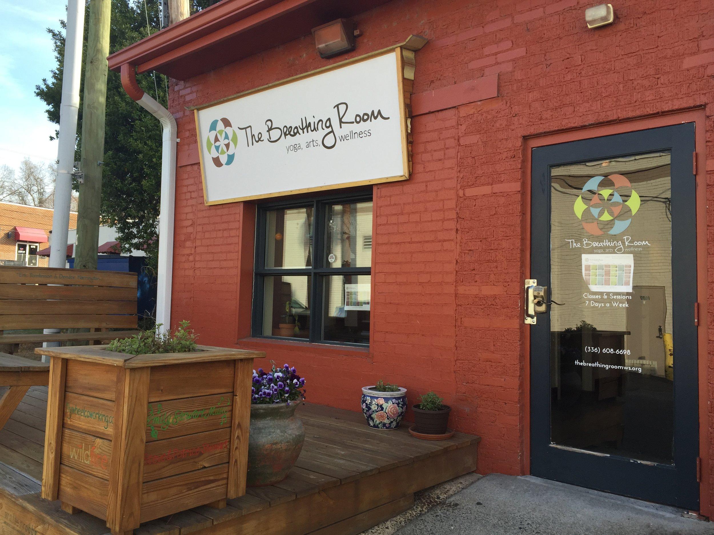 The Breathing Room Yoga Studio