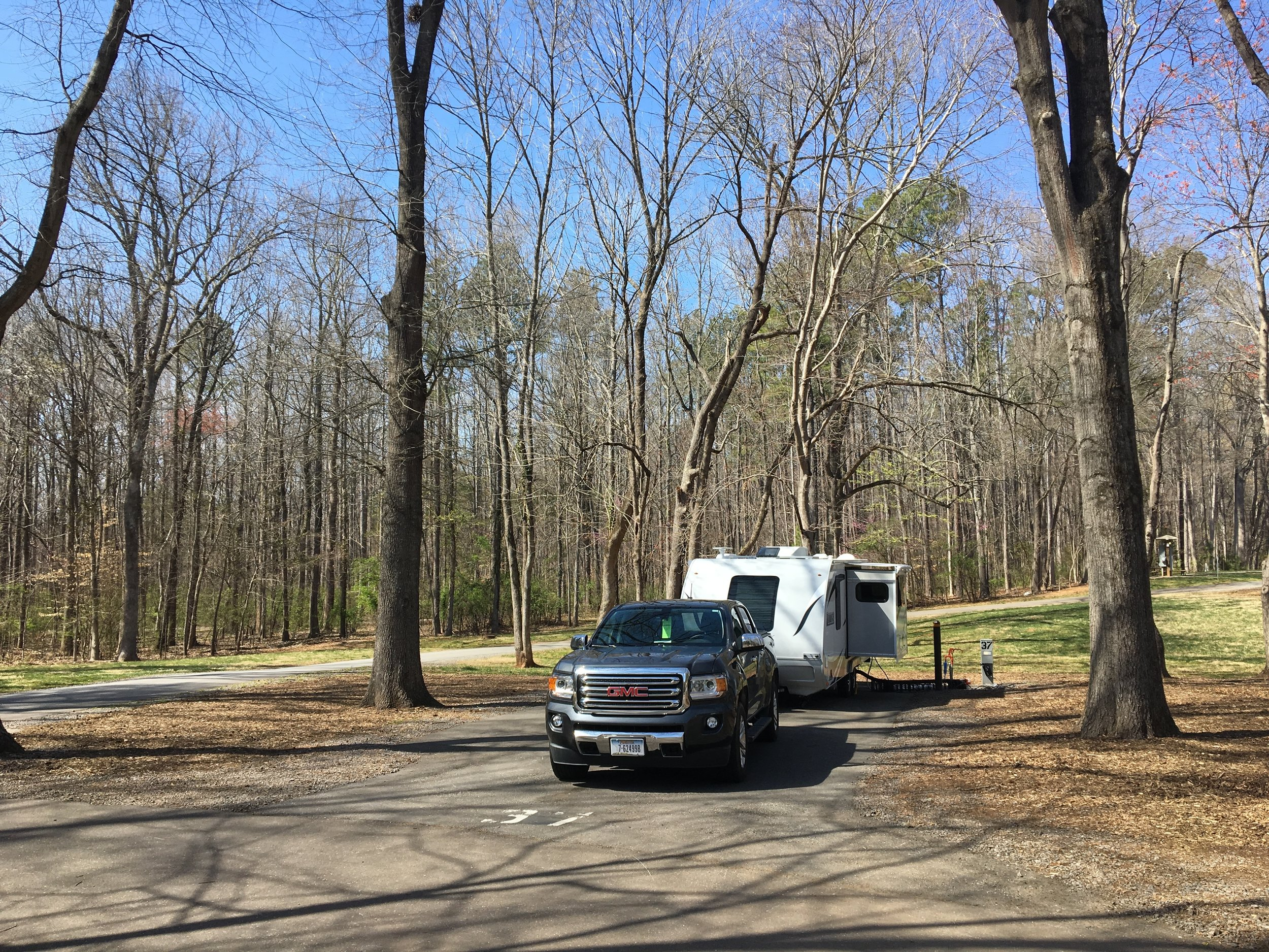 Site #37 at Tanglewood Park
