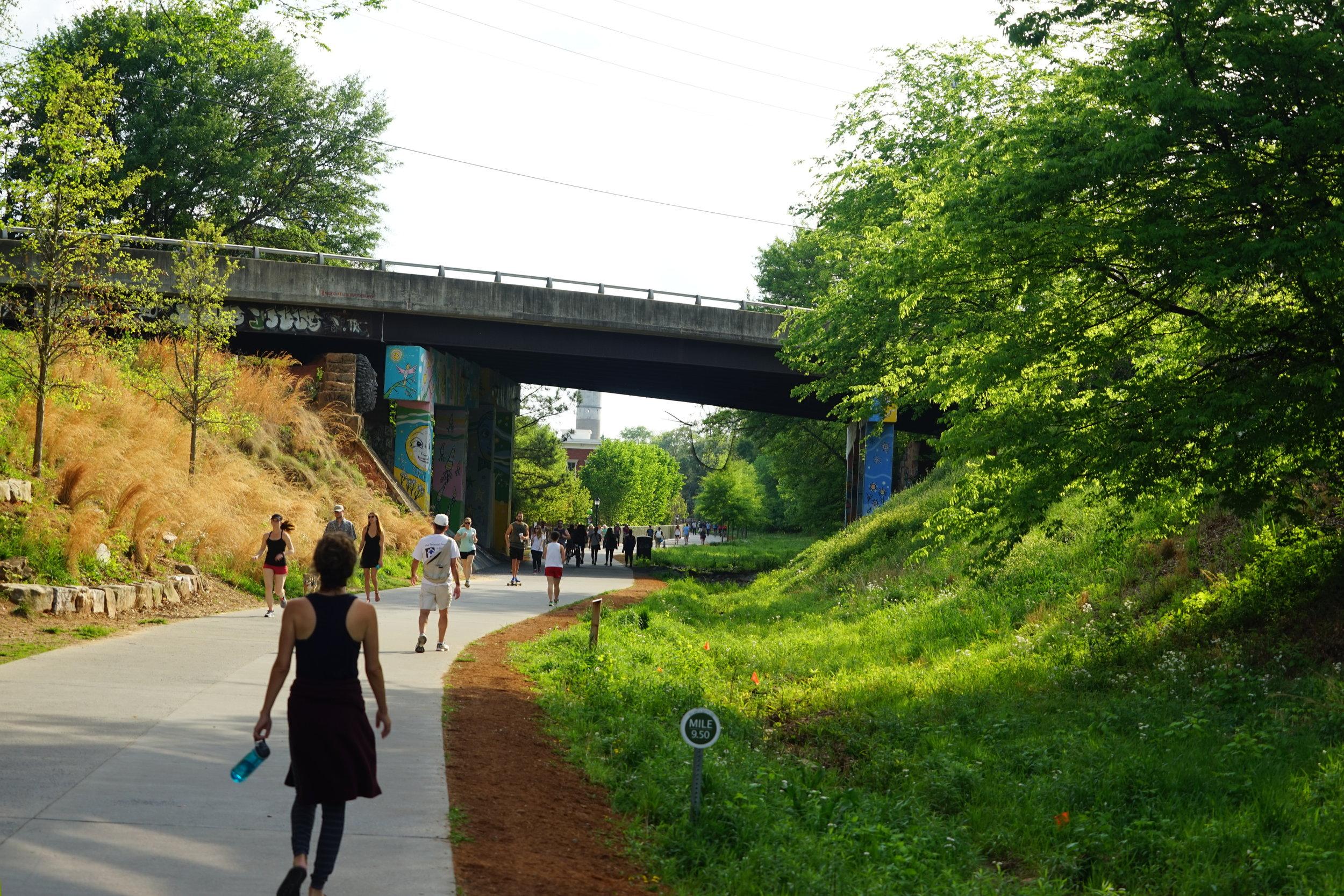 Walking the Atlanta Beltline