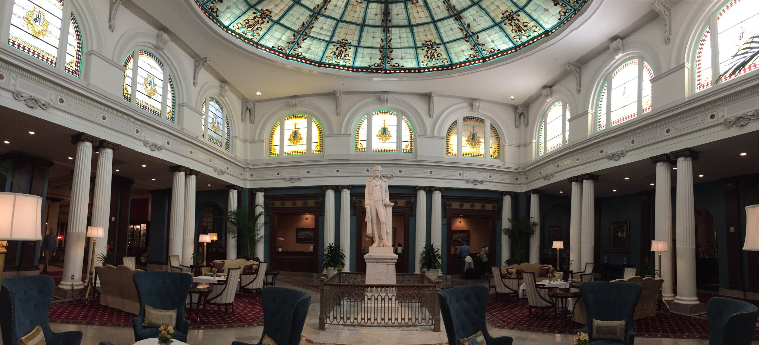 Inside the Jefferson Hotel
