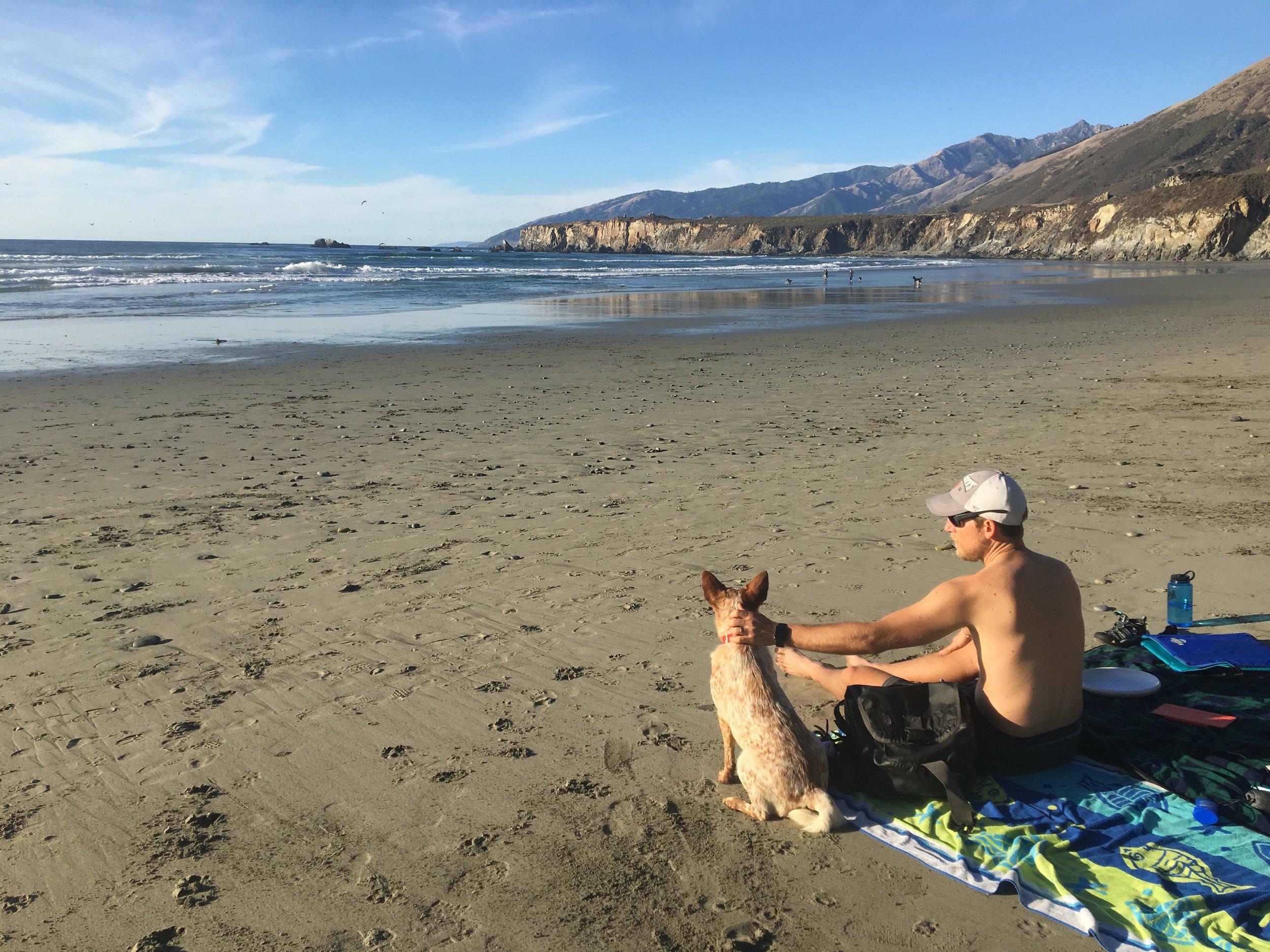 Sand Dollar Beach Big Sur
