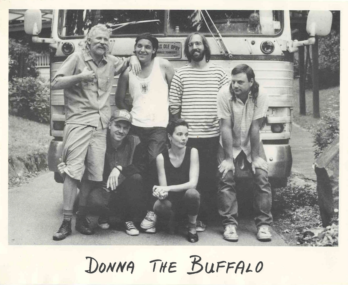 From left to right, early band members: Joe Thrift, Jeb Puyear, Jordan Puryear, Shane Lamphier, Jim Miller, and Tara Nevins