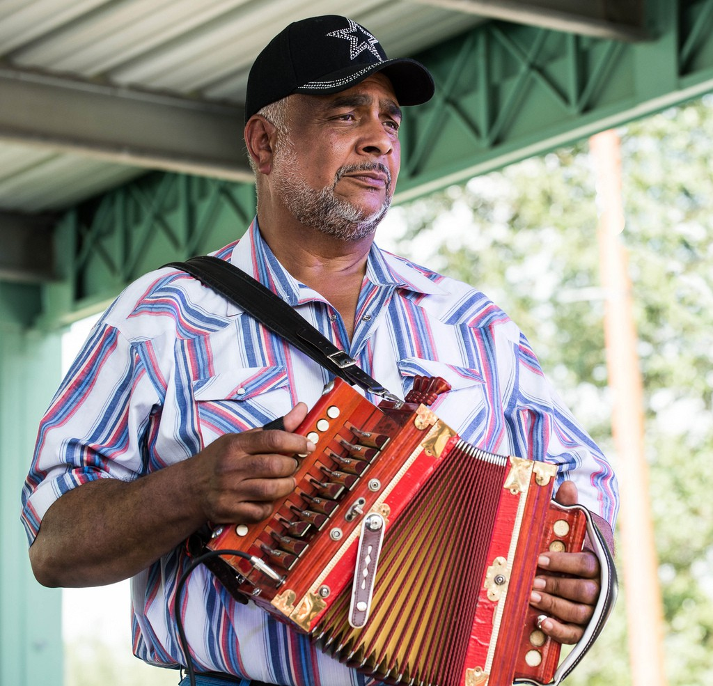 Preston Frank & His Zydeco Family Band