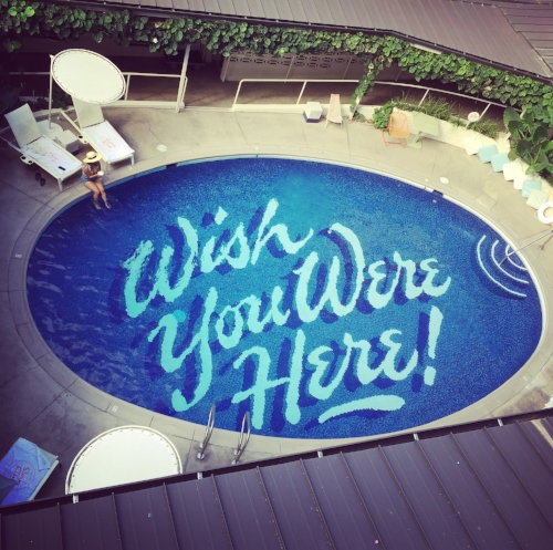 """Most Instagrammed Hotel pool"" in Hawaii"