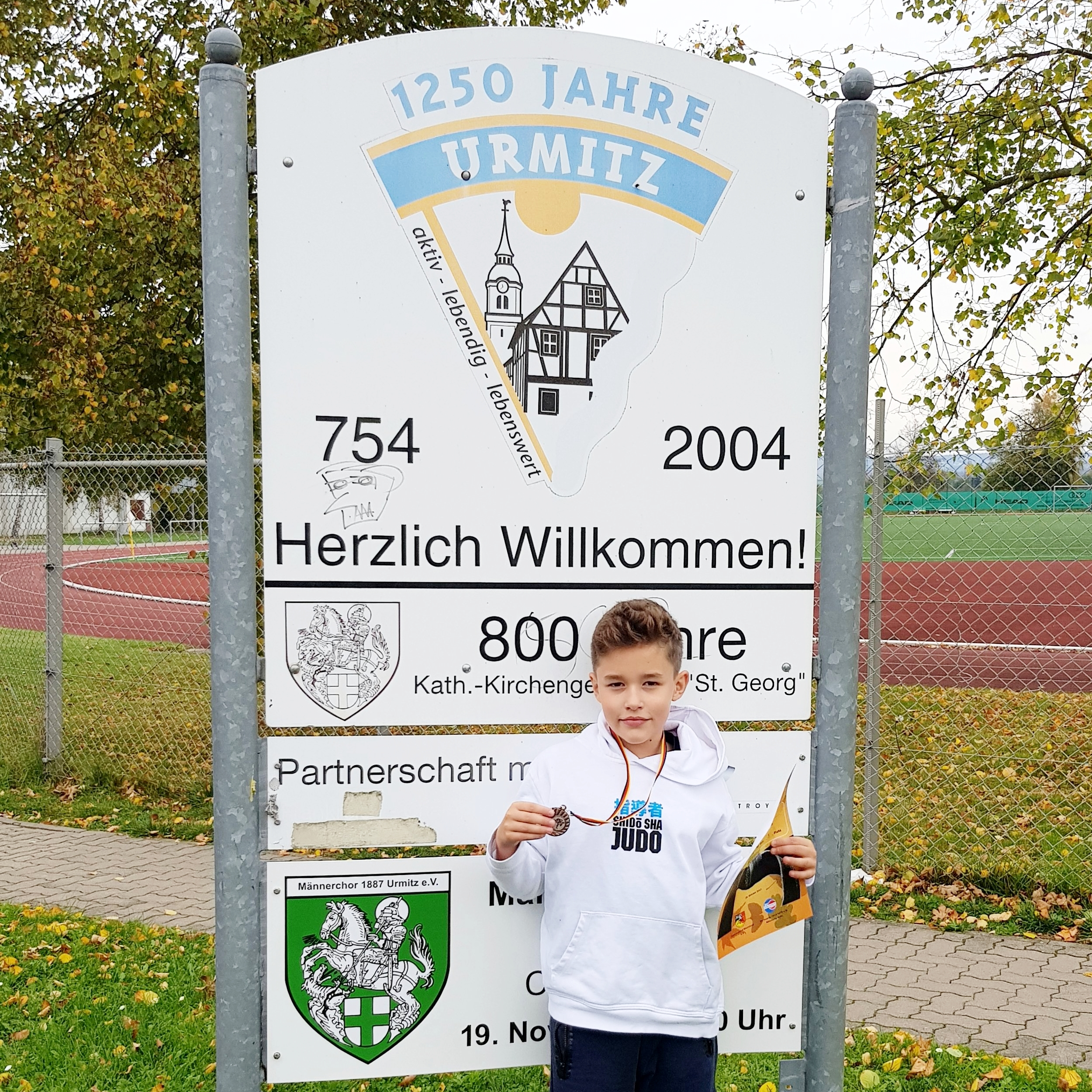 Emil holt Bronze in Urmitz