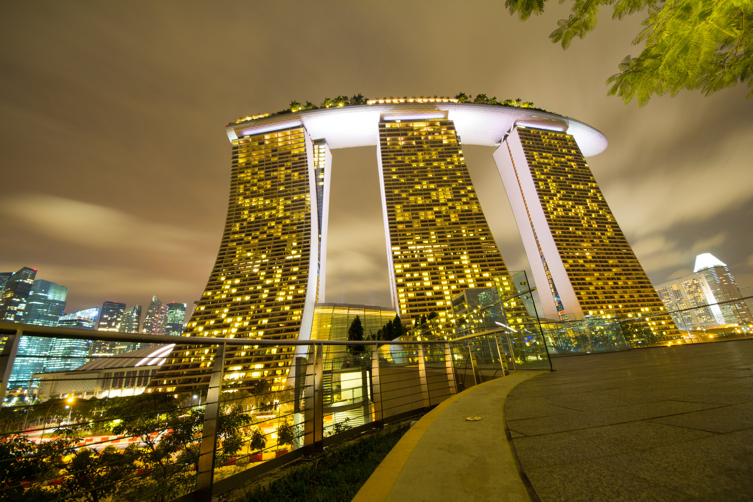 The Marina Bay Sands Hotel, Singapore