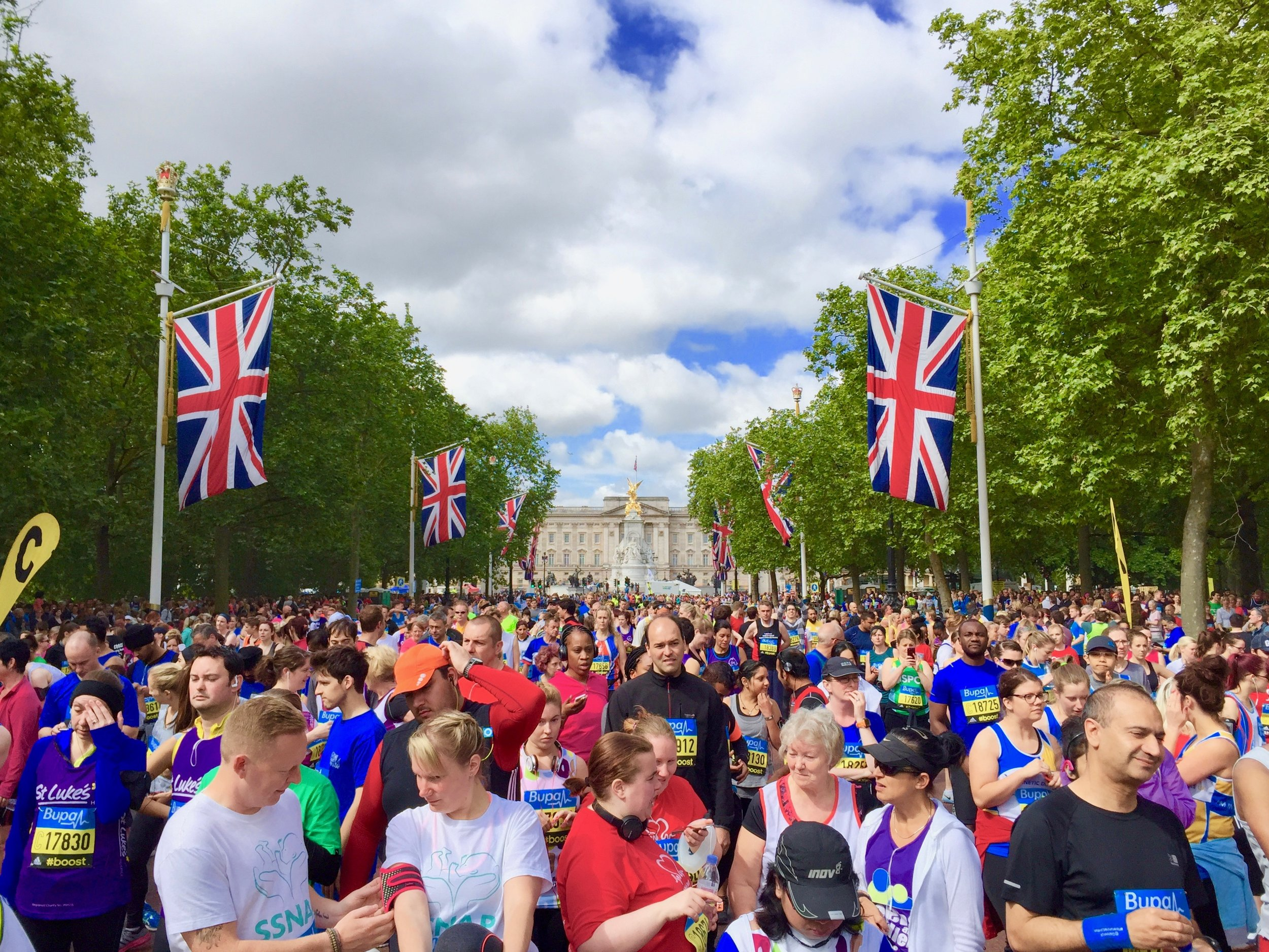Start of the 10K, Central London, England