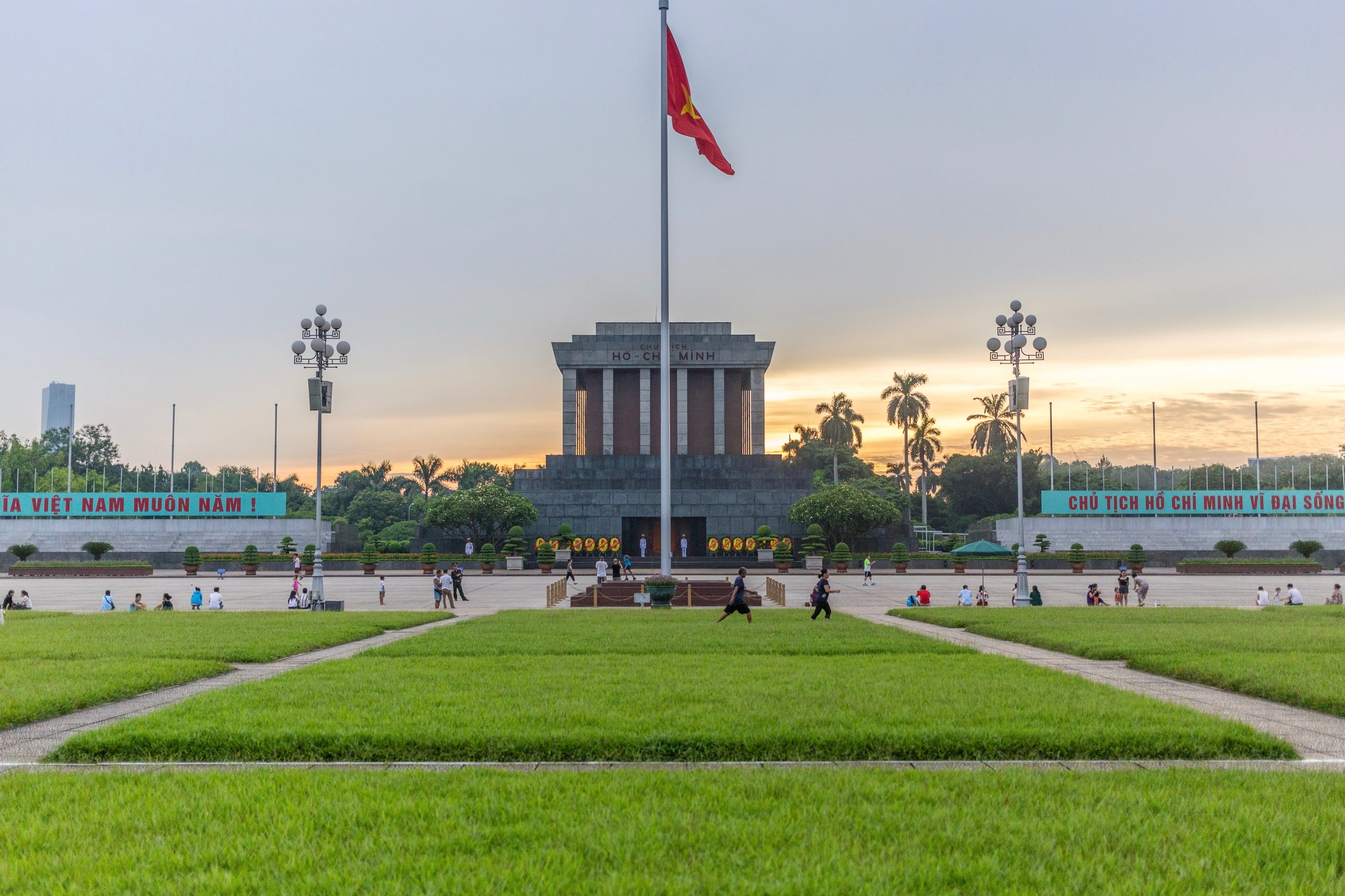 The Ho Chi Minh Museum in Hanoi