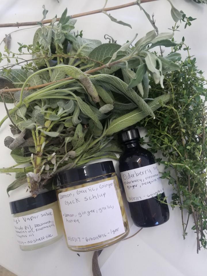 Vique Simba Natalie Mik Herbal Workshop Grab Bag Studio