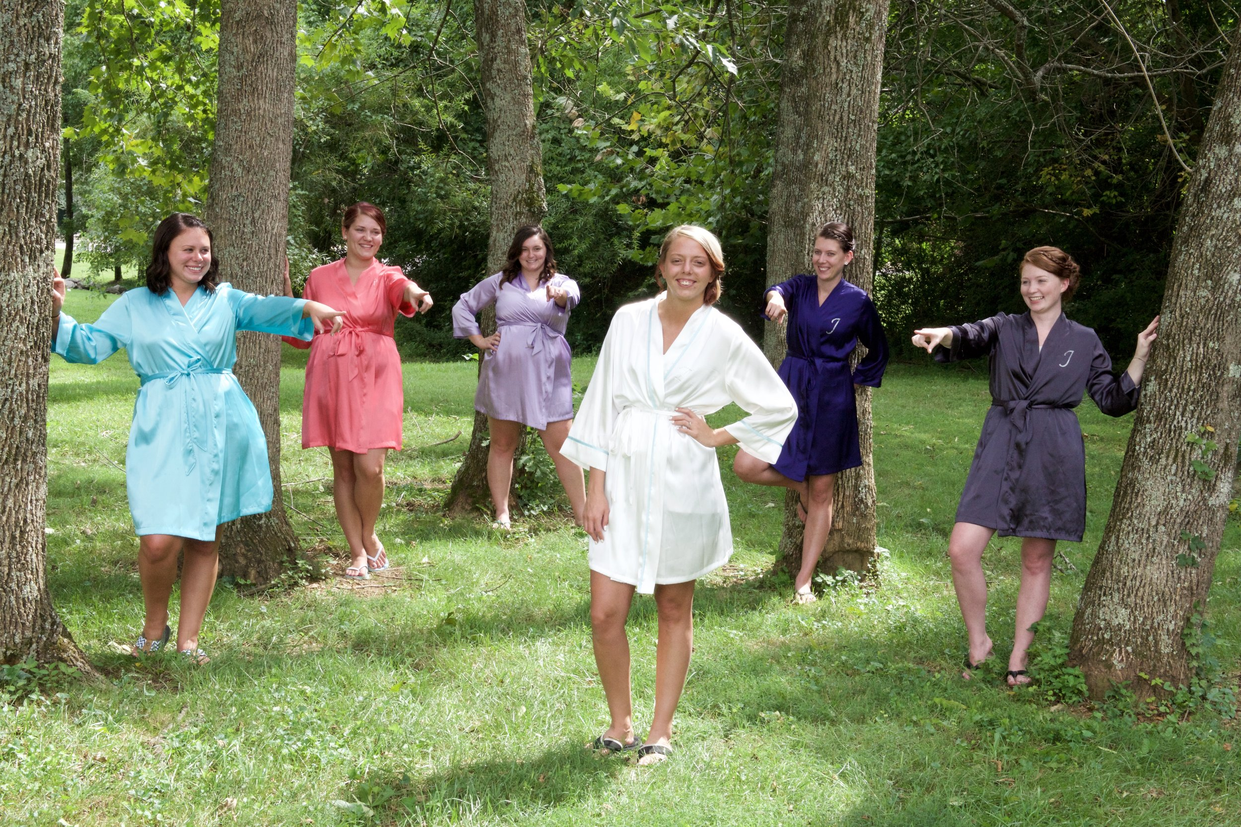If you want fun bridemaids photos, you better plan for it.