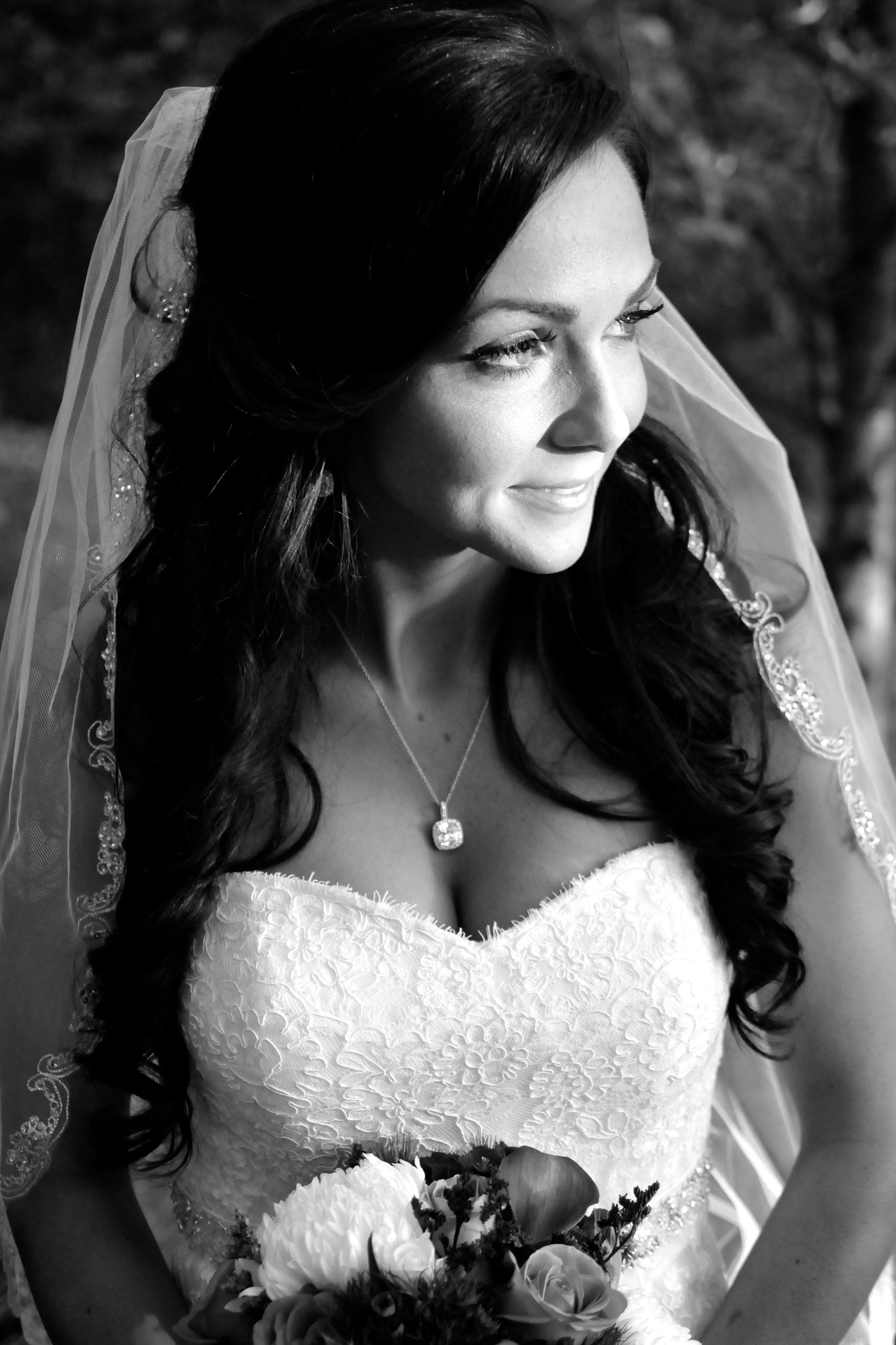 Perfect bridal photo pose