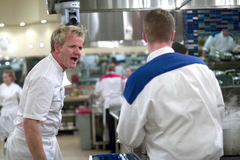 Chef frustrated with wannabes