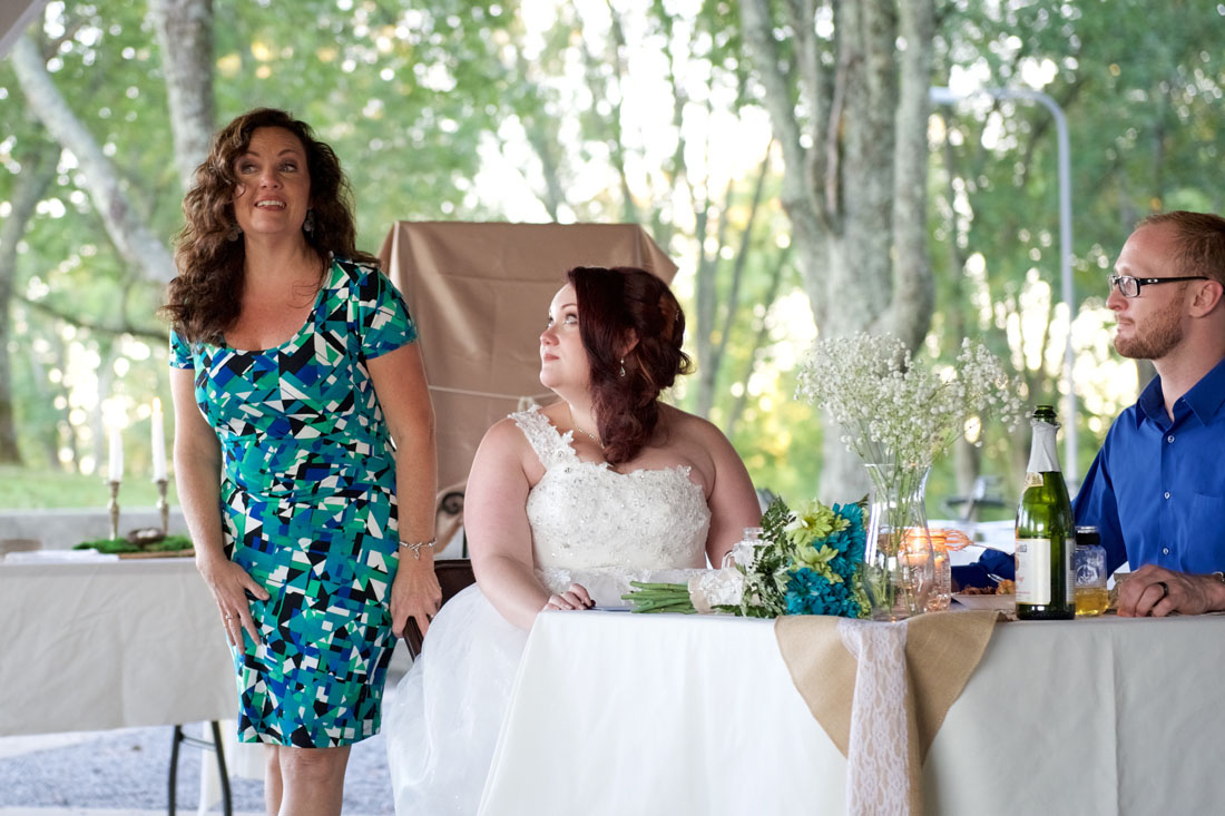 This mother of the bride was amazing in every way. But then again, that's my wife with my stepdaughter.