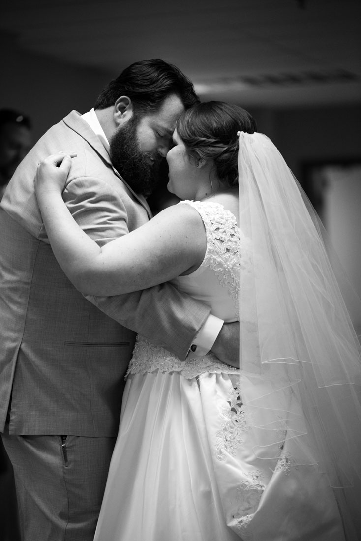 Paul & Ashley enjoy an intimate moment during their first dance.