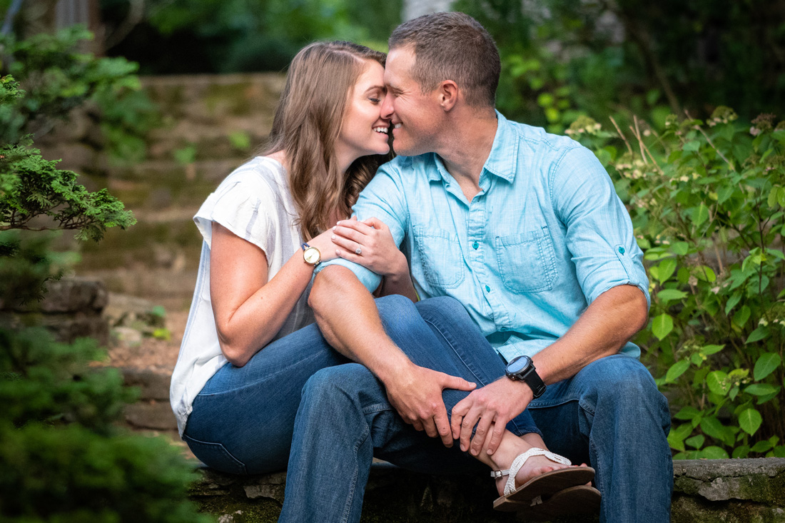 Lauren & Tommy at Knoxville Botanical Gardens