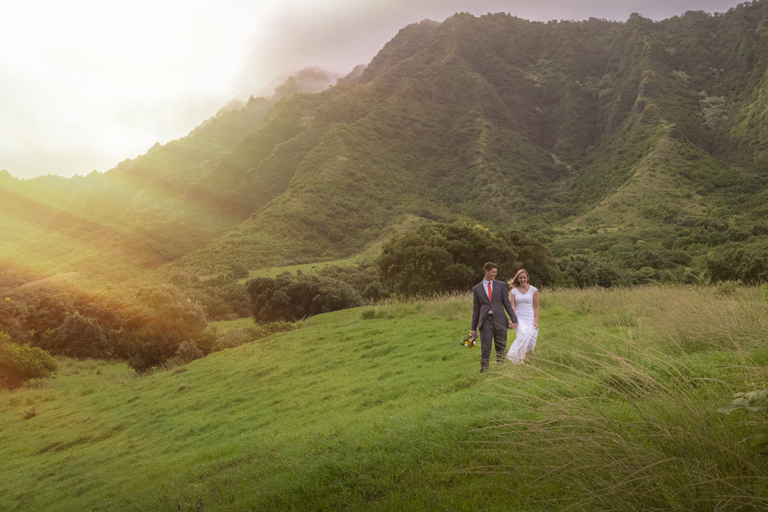 Saren & Joe - Kualoa Ranch (Kaneohe,Hawaii) & Laie Temple (Laie, Hawaii)