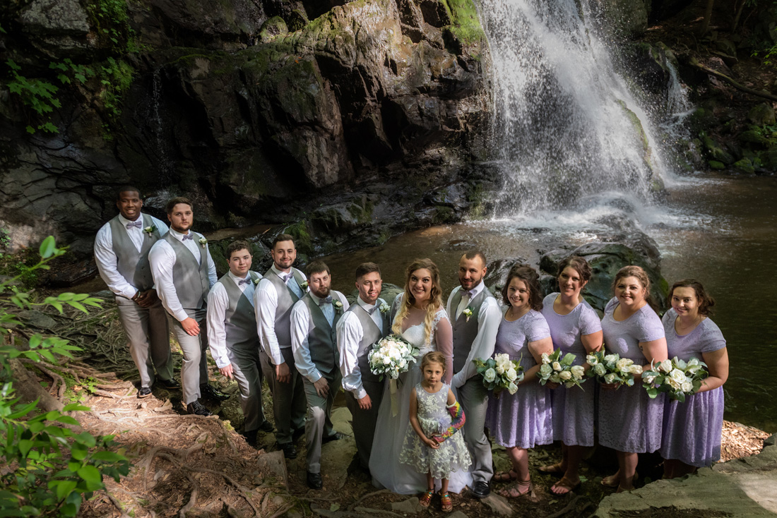Janel & Andrew - Spruce Flats Falls (GSMNP)  Review coming soon . . .