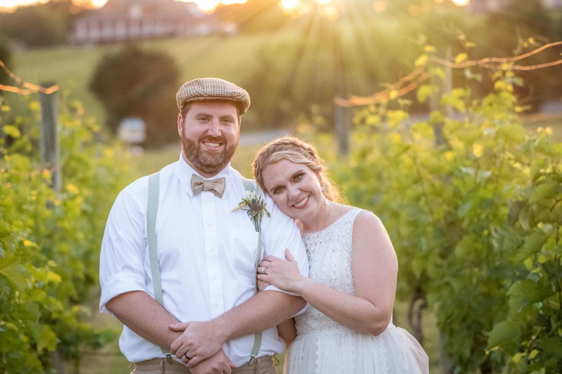 Eric & Laine at sunset