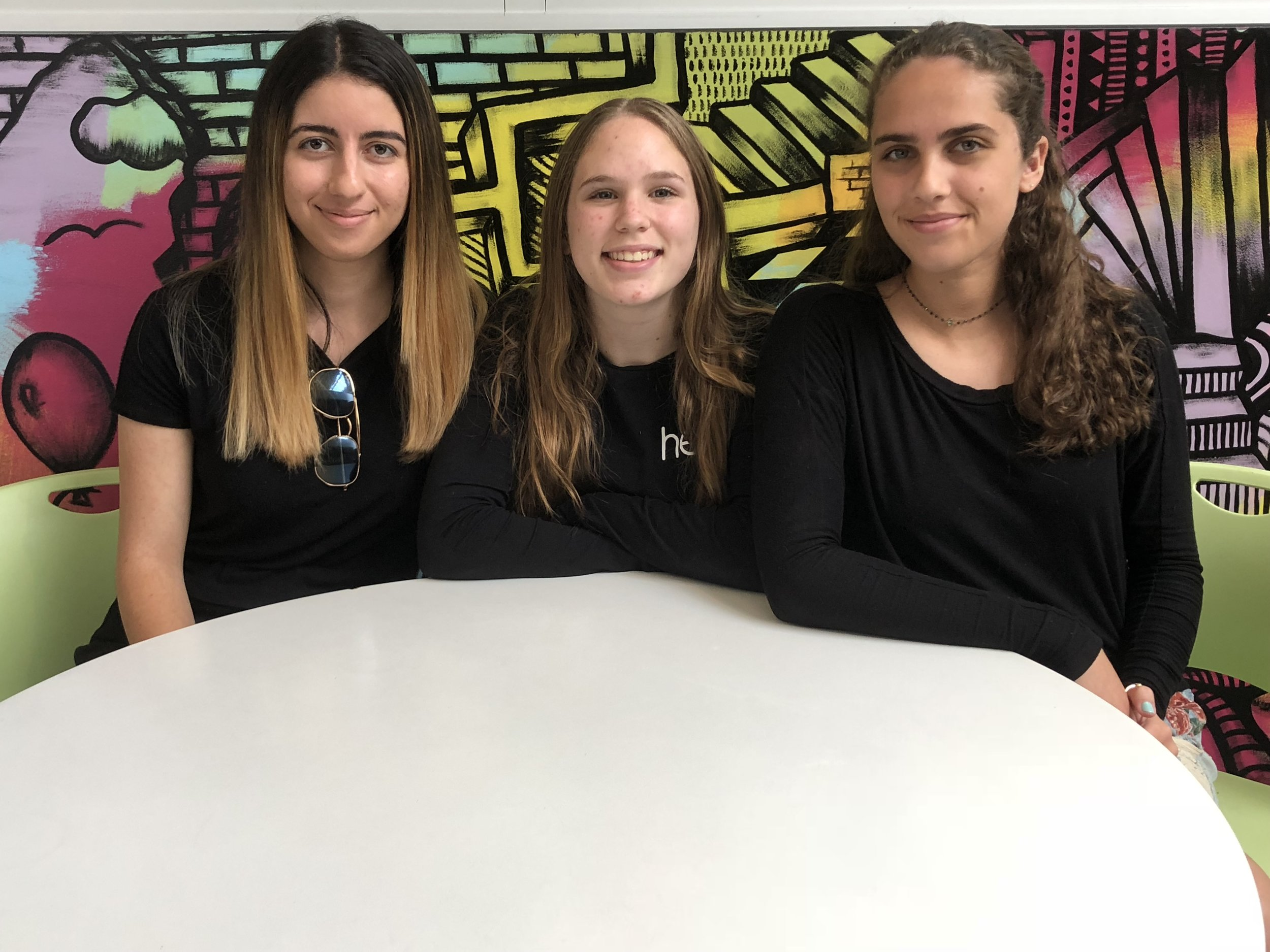 These budding entrepreneurs spent this past summer focused on tackling the issue of safety for women head on by developing a line of button-activated smart jewelry made to contact help in an emergency situation. Come meet the founders of   HERO  !