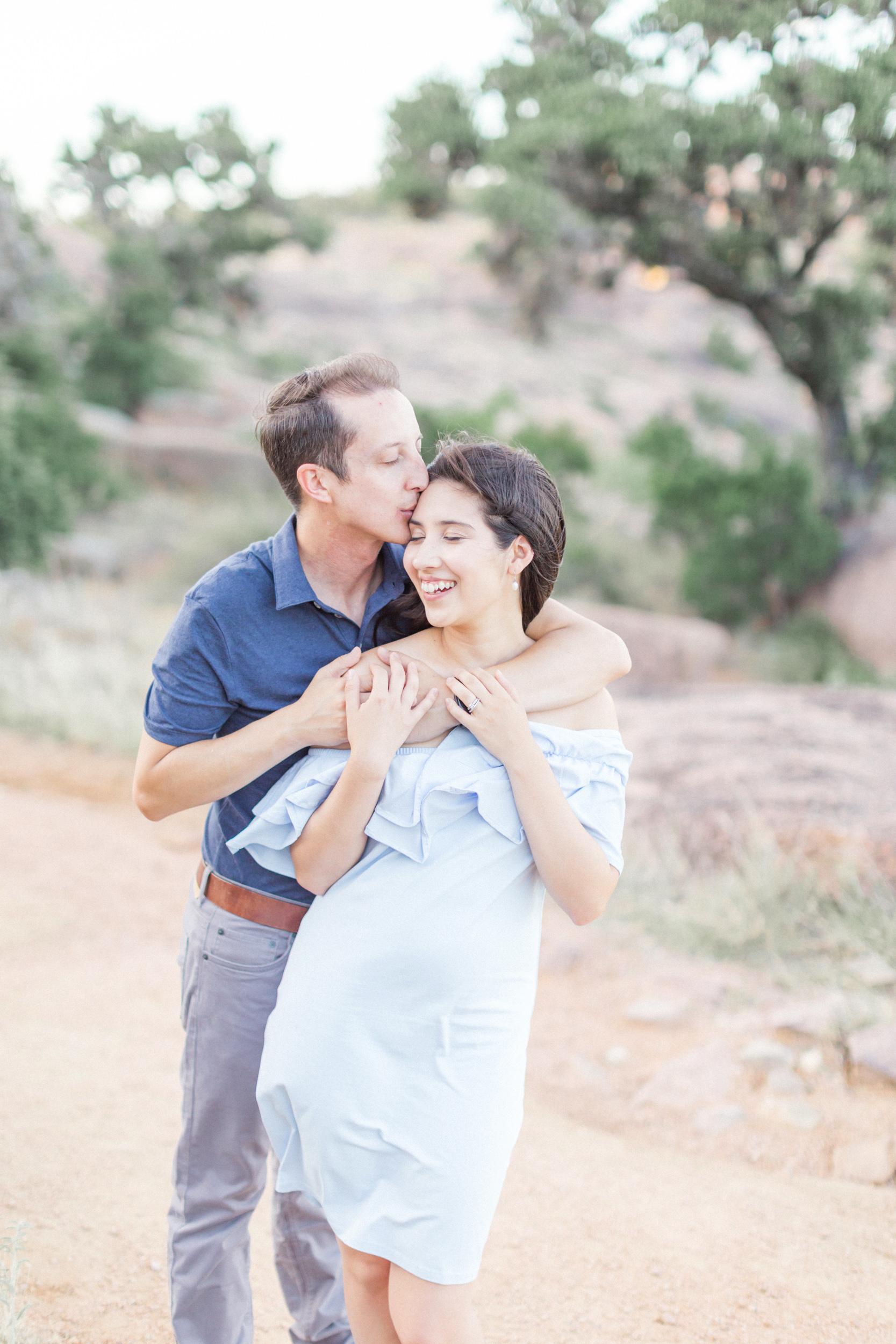 San Antonio Austin Tx Texas Hill Country Wedding Enchanted Rock Engagement Anniversary Photographer Engagement Anniversary Photo Session Pictures
