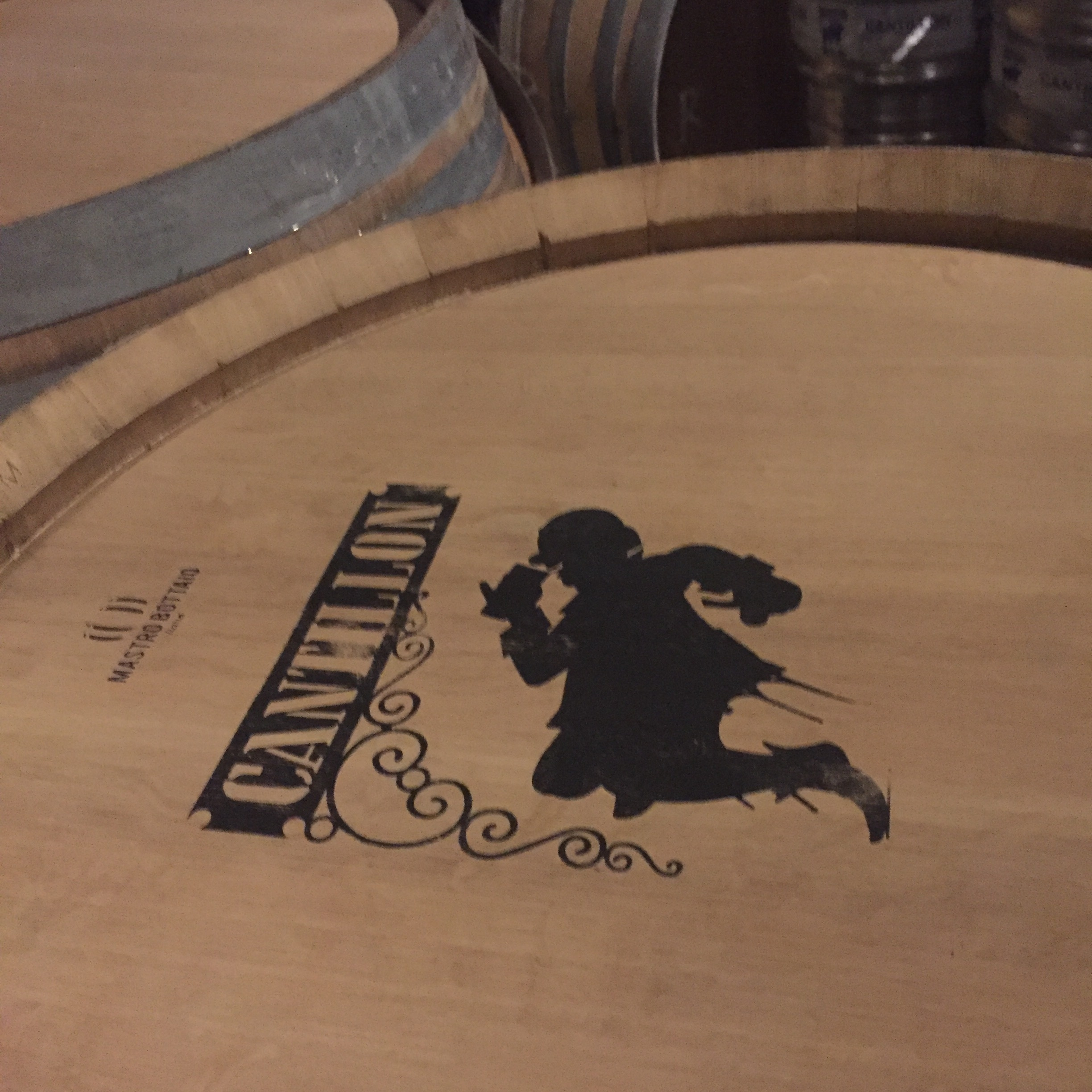 A barrel at Cantillon from my visit to Belgium in 2017.