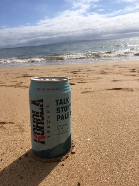 Beer and the beach.