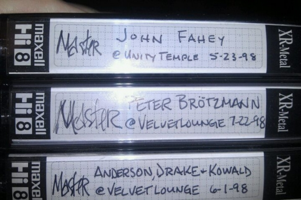 Tapes from the Malachi Ritscher Collection