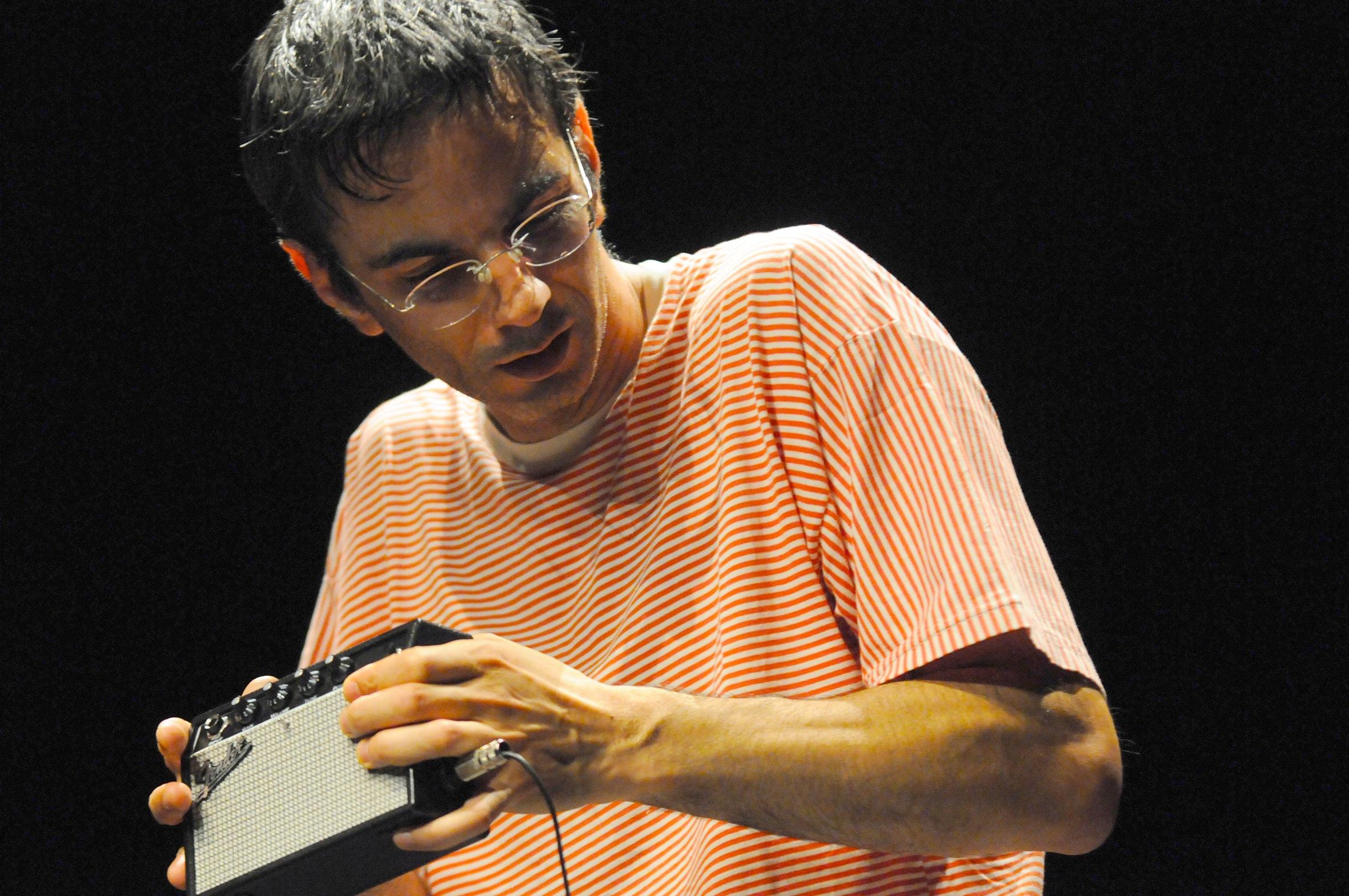 Rafael Toral, photo by Nuno Martins