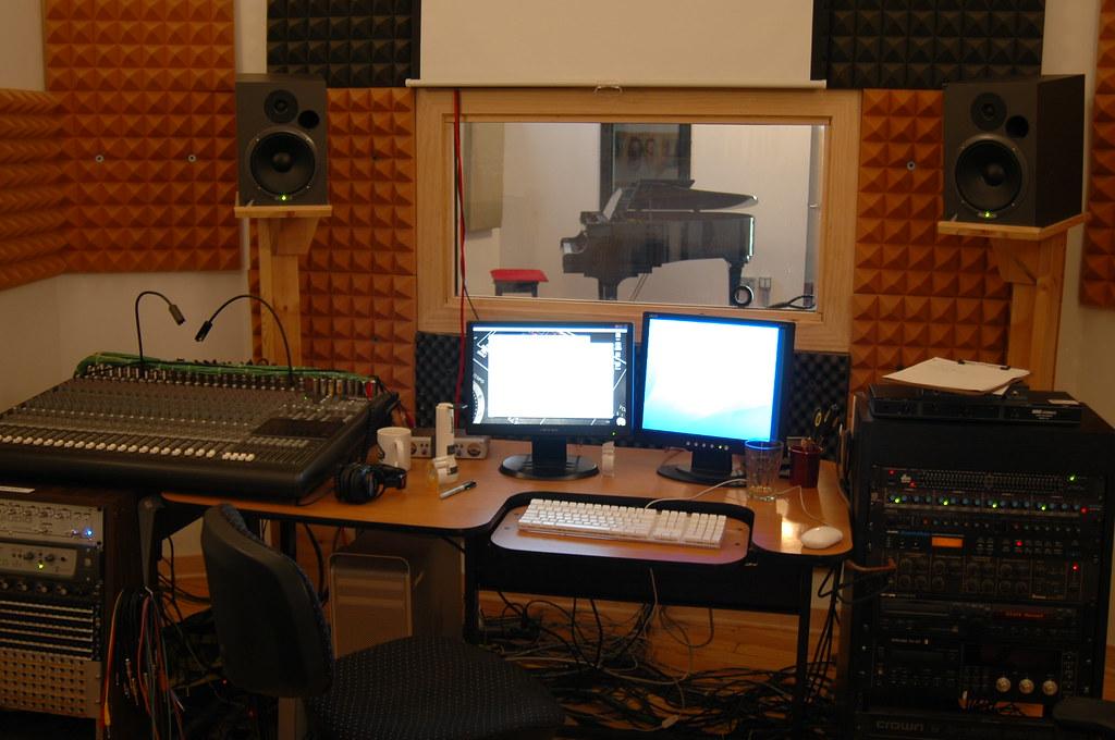 Control Room & Studio A, 2009