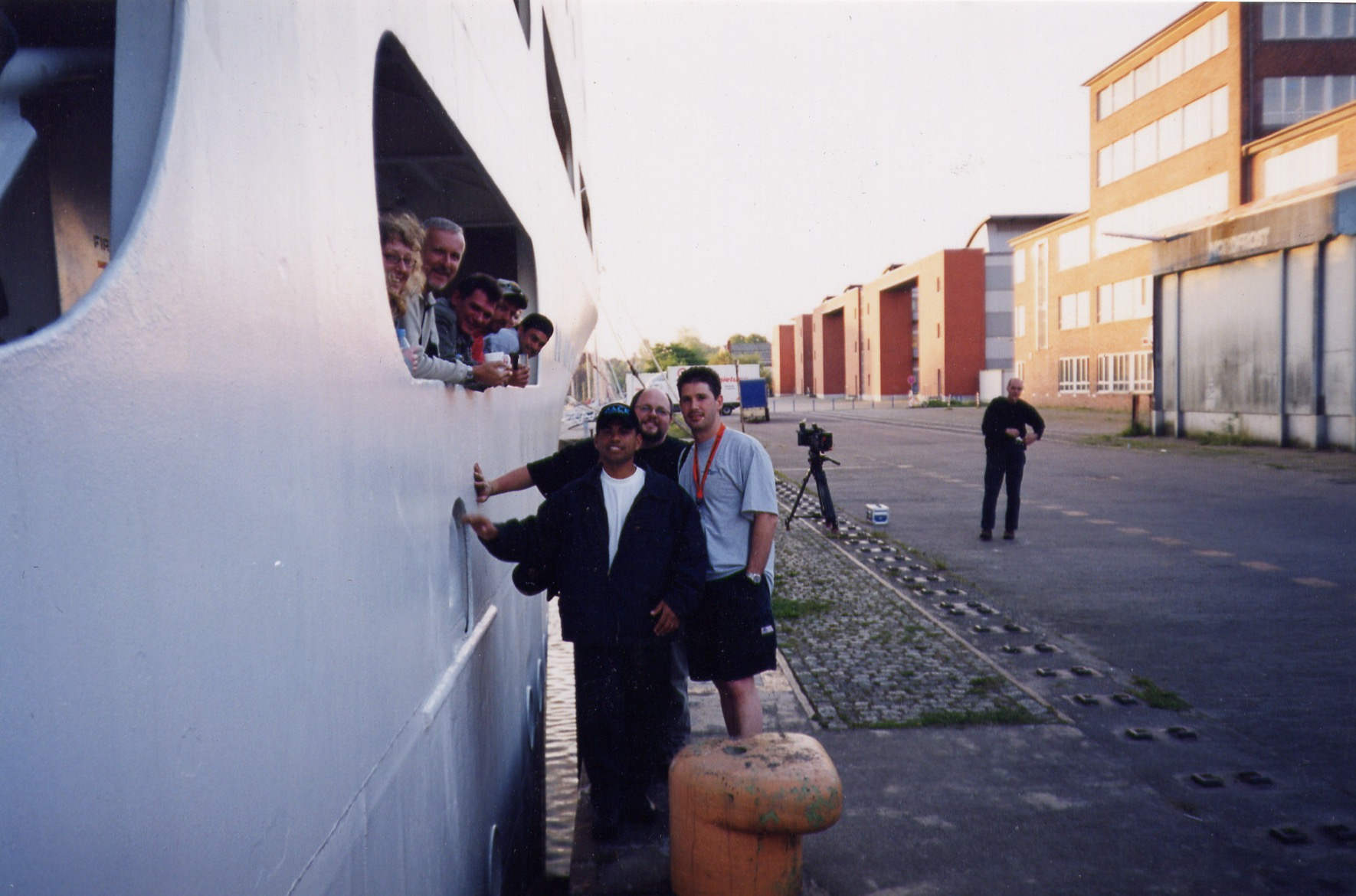 Dockside with Cameron in Kiel.jpg