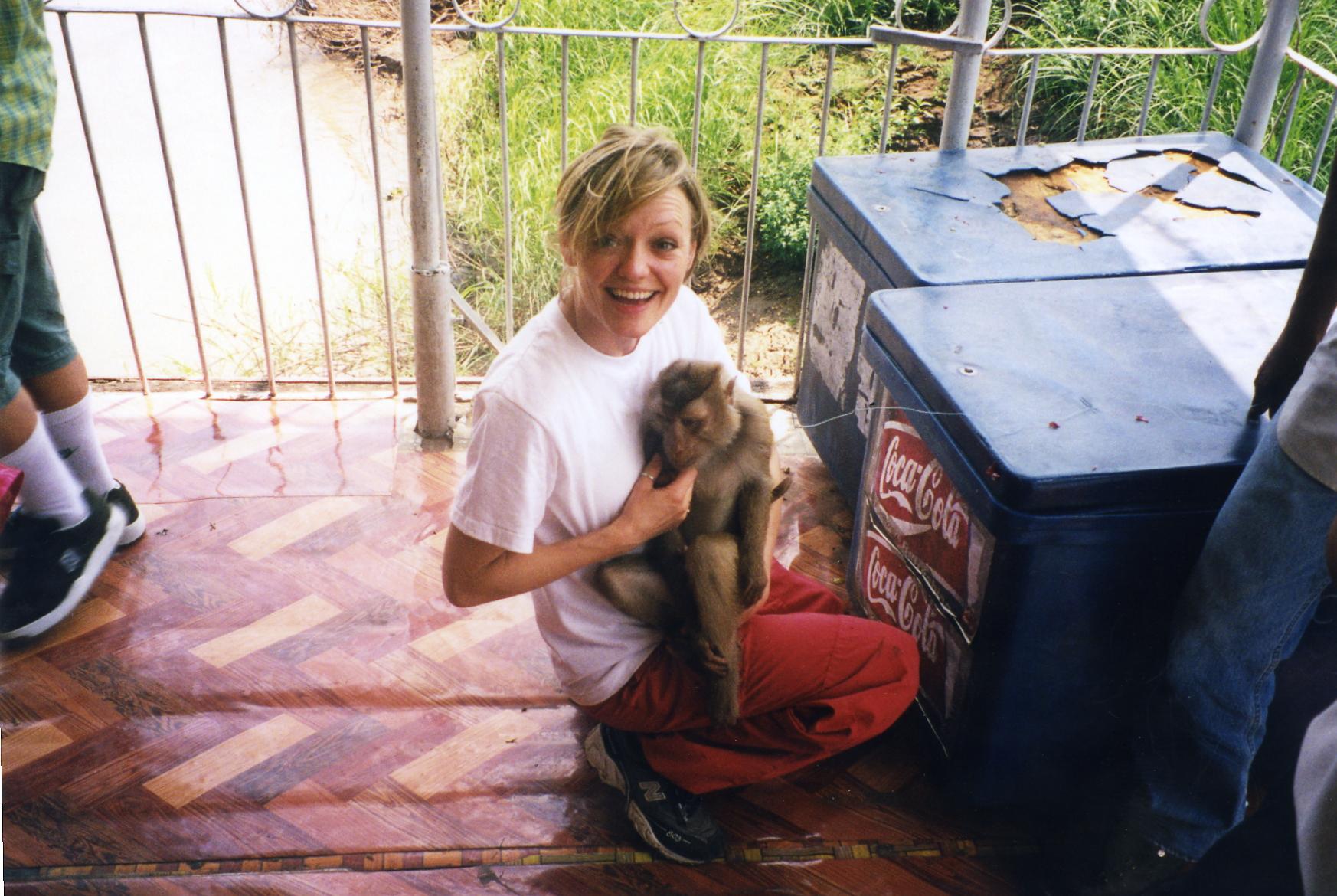 Raissa and the monkey.jpg