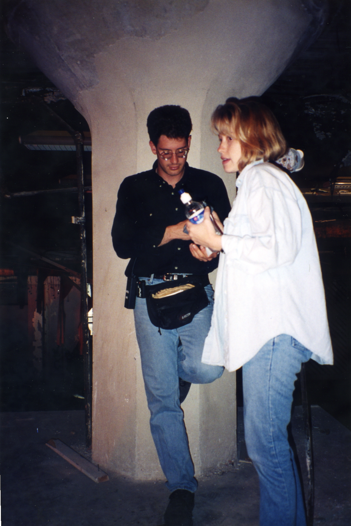 on the set of For Life or Death.jpg