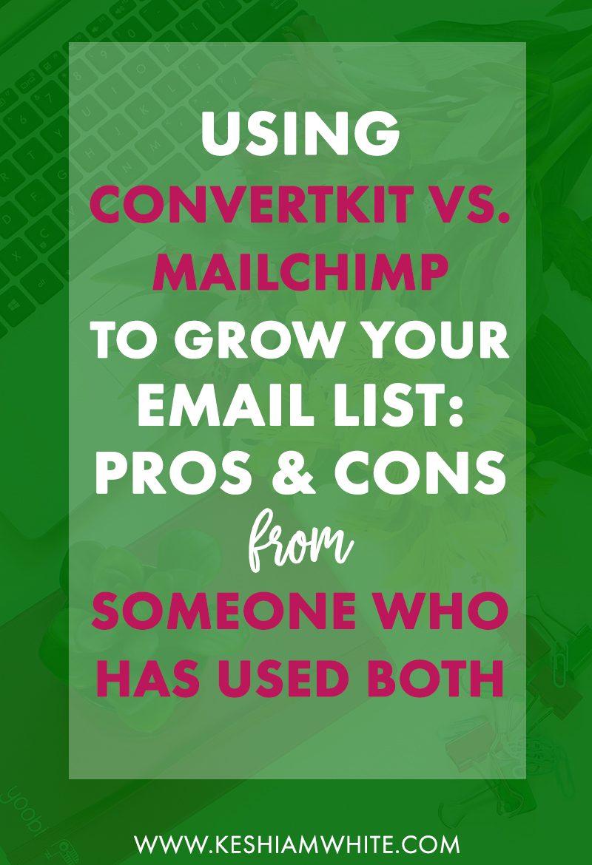 ConvertKit vs. MailChimp