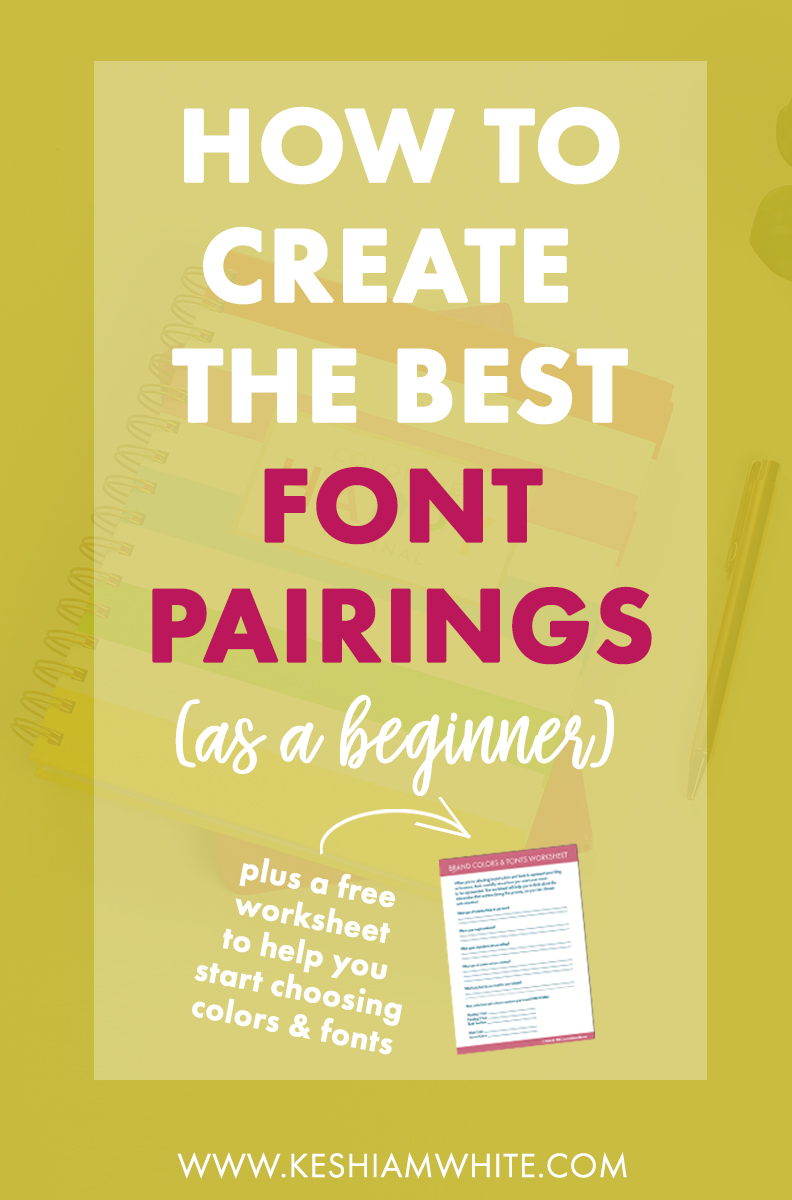 How to Create the Best Font Pairings