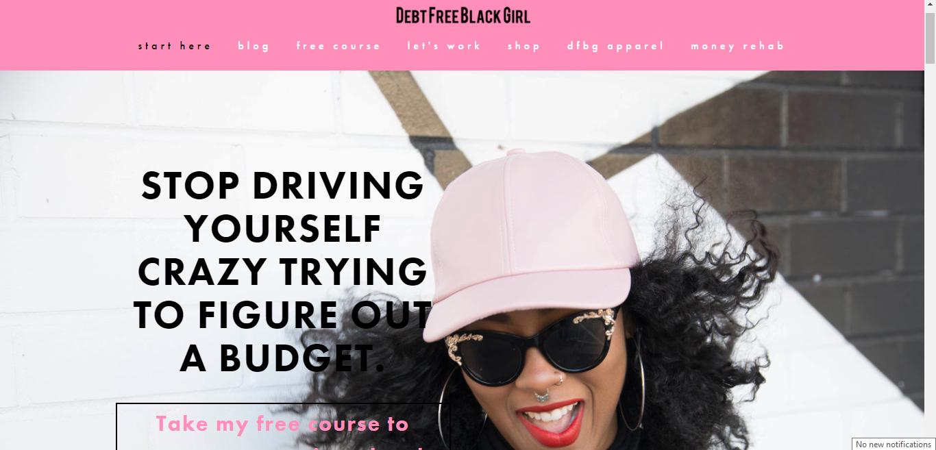 Debt Free Black Girl