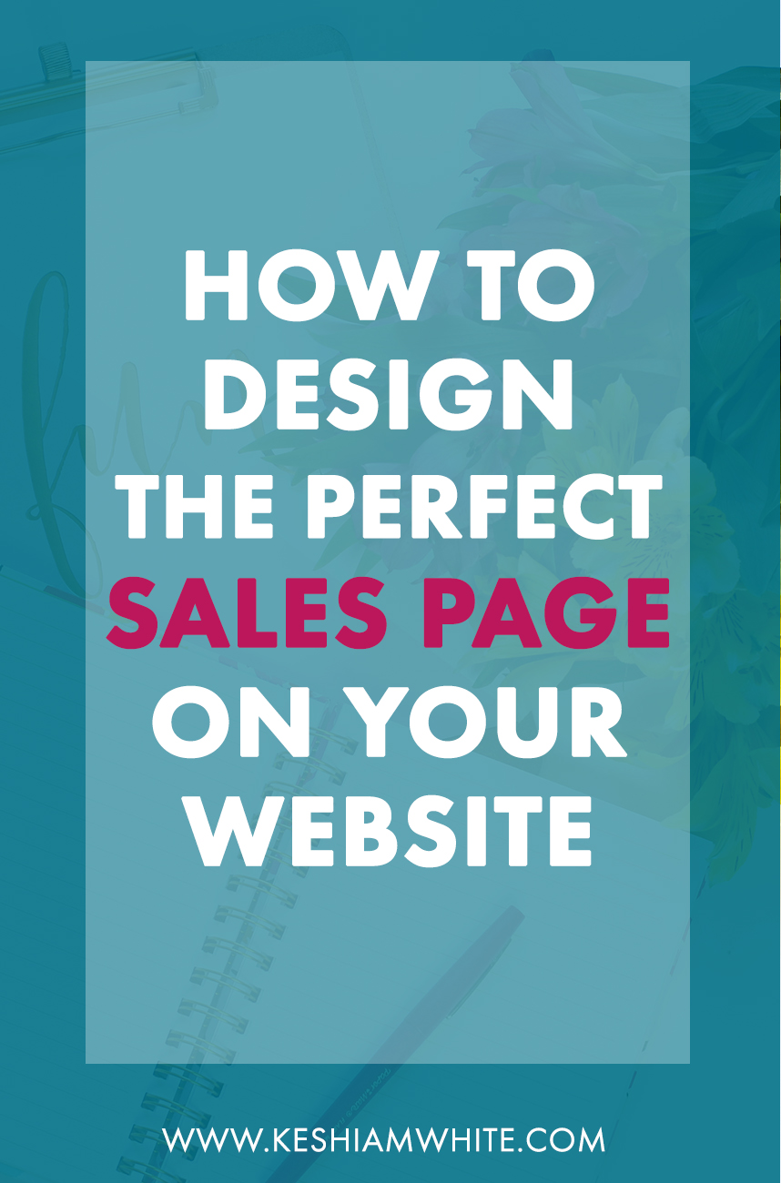 How to Design the Perfect Sales Page