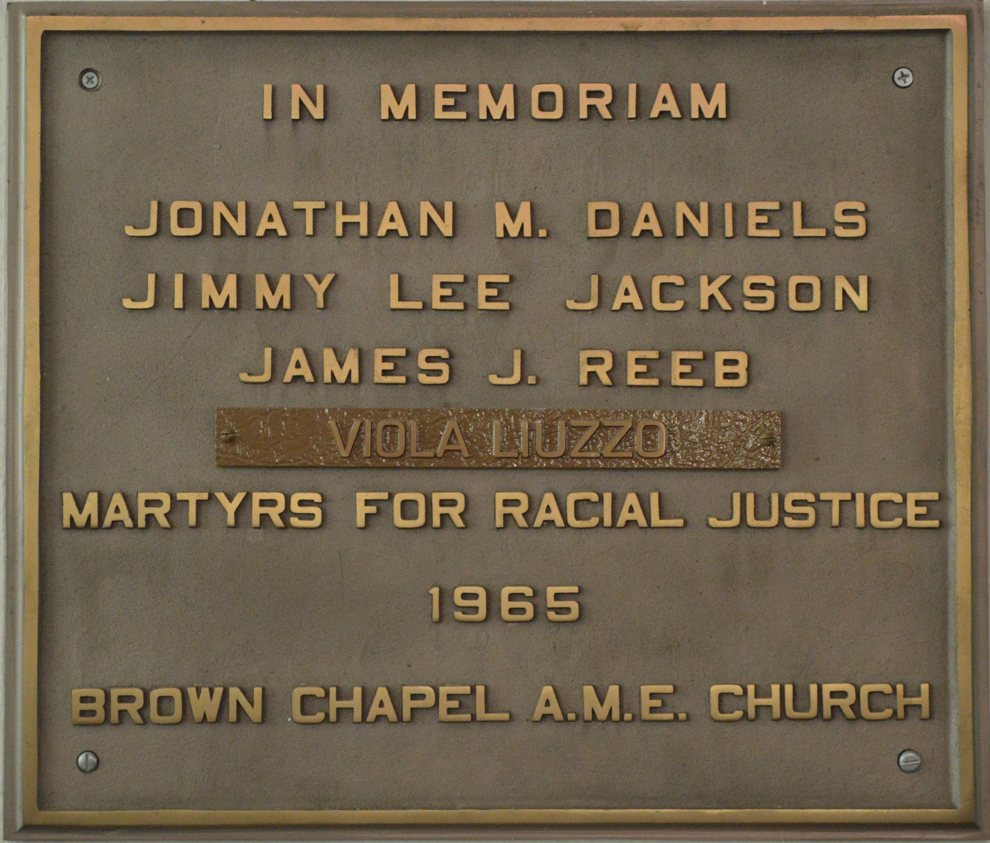 Brown Chapel, Selma