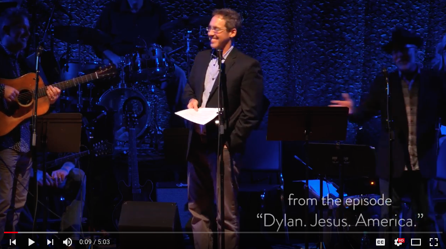 "Watch footage from our June 7, 2018 show, ""Dylan. Jesus. America"" -"