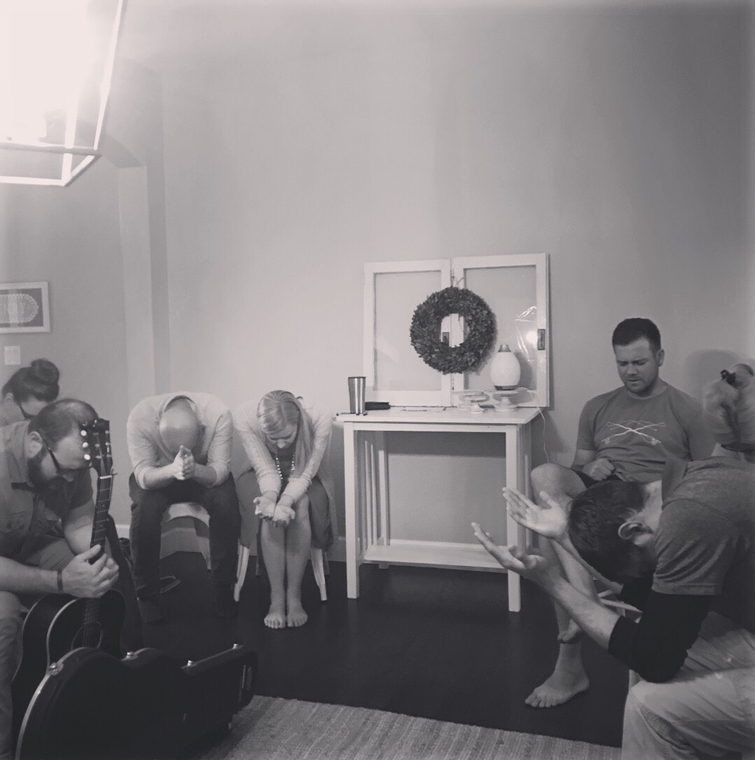 Night of Prayer & Worship in one of our member's home