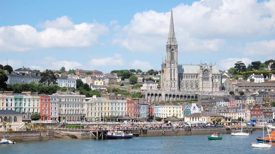 Irlande,le port de Cobh